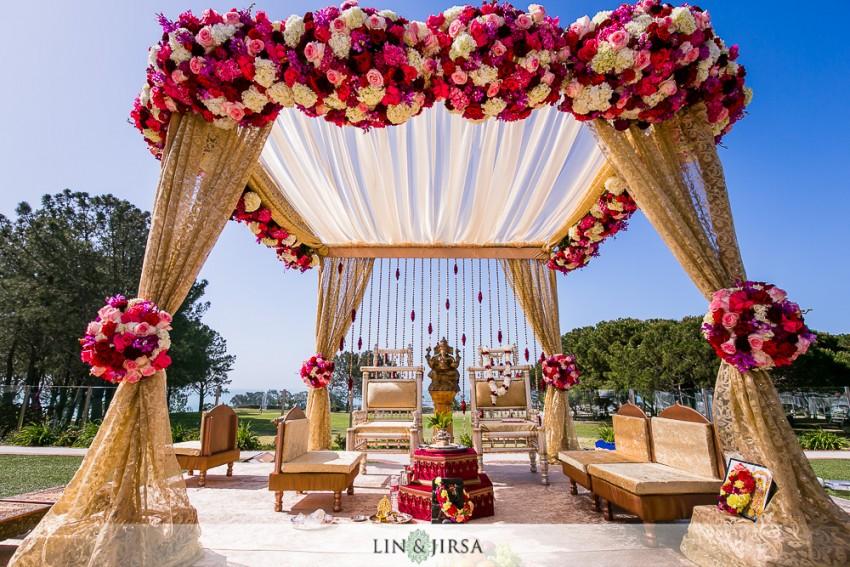Laguna Cliffs Marriott Indian Wedding Anand And Anita