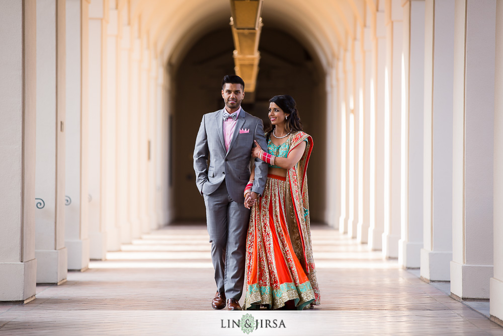 37 The Athenaeum Pasadena Indian Wedding Photographer Couple Session Photos