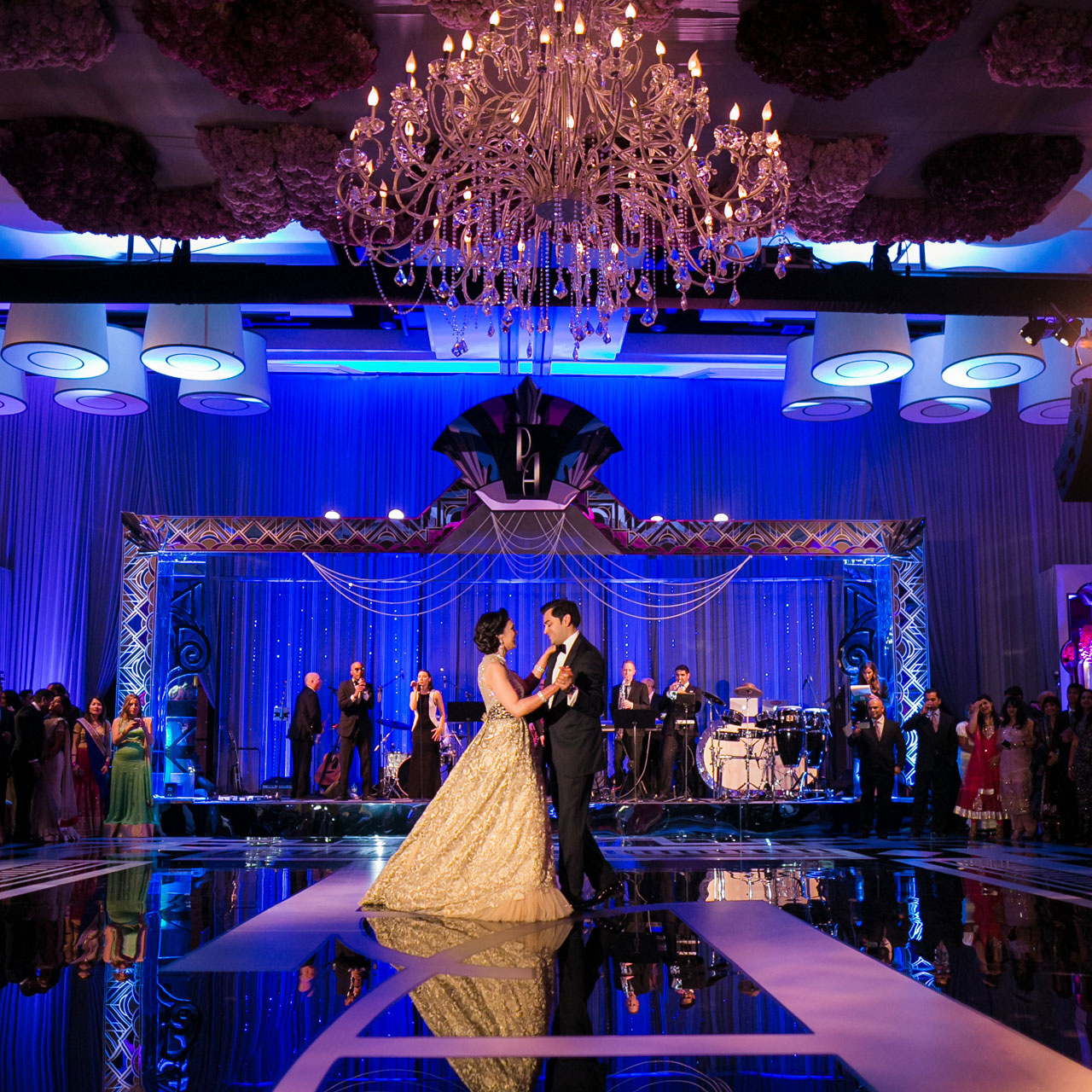 Palos Verdes Wedding Venues: Terranea Resort Indian Wedding Reception