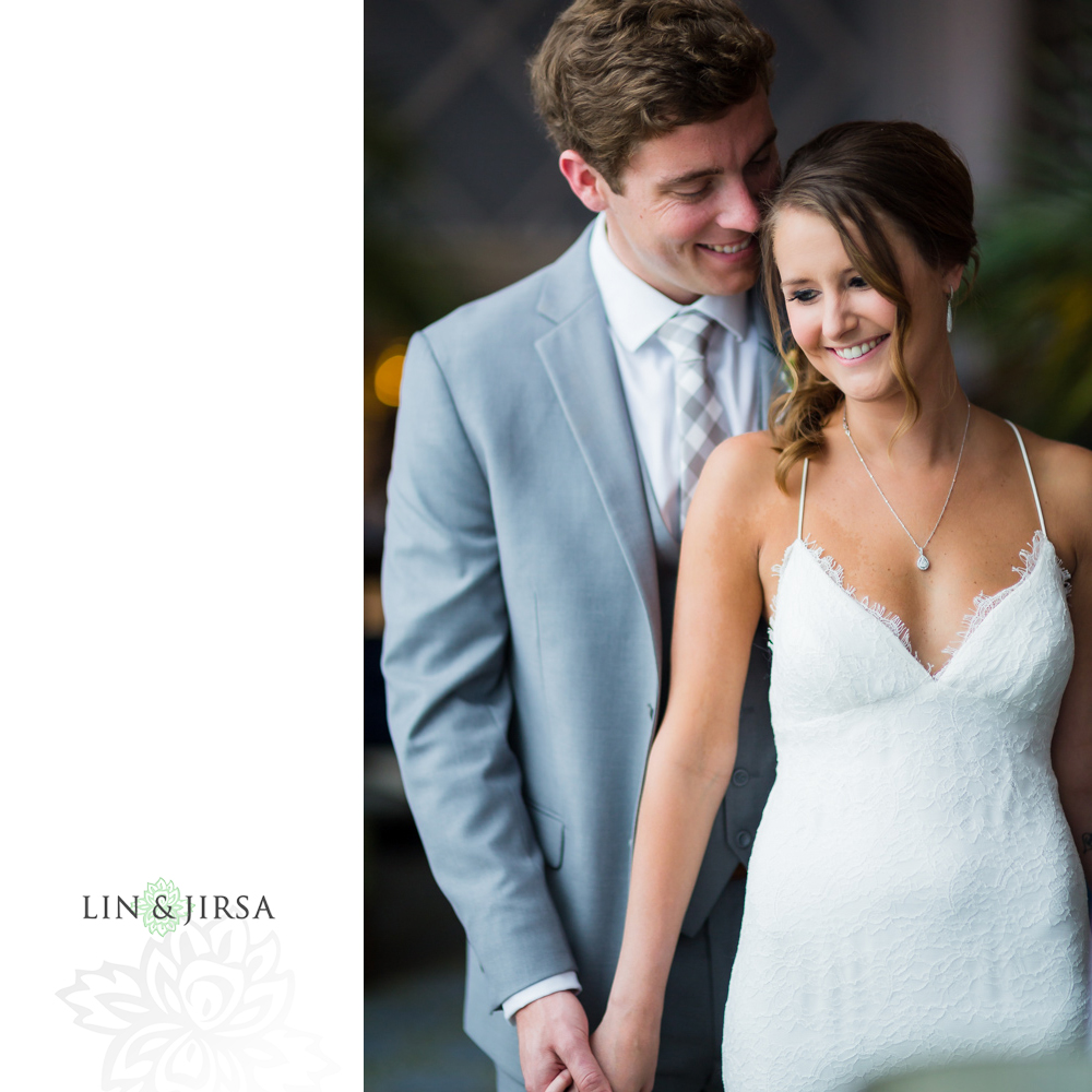 The Portofino Hotel & Marina Wedding | George and Paige