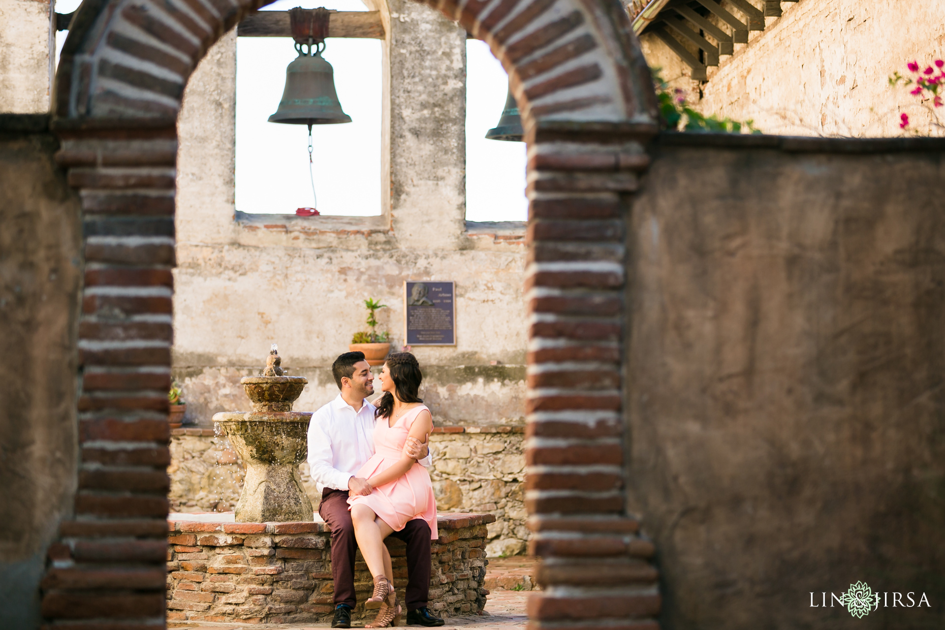 07-Mission-San-Juan-Capistrano-Engagement-Photography