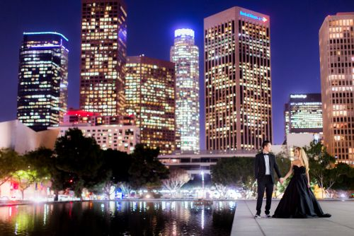 Downtown-Los-Angeles-Engagement-Photography