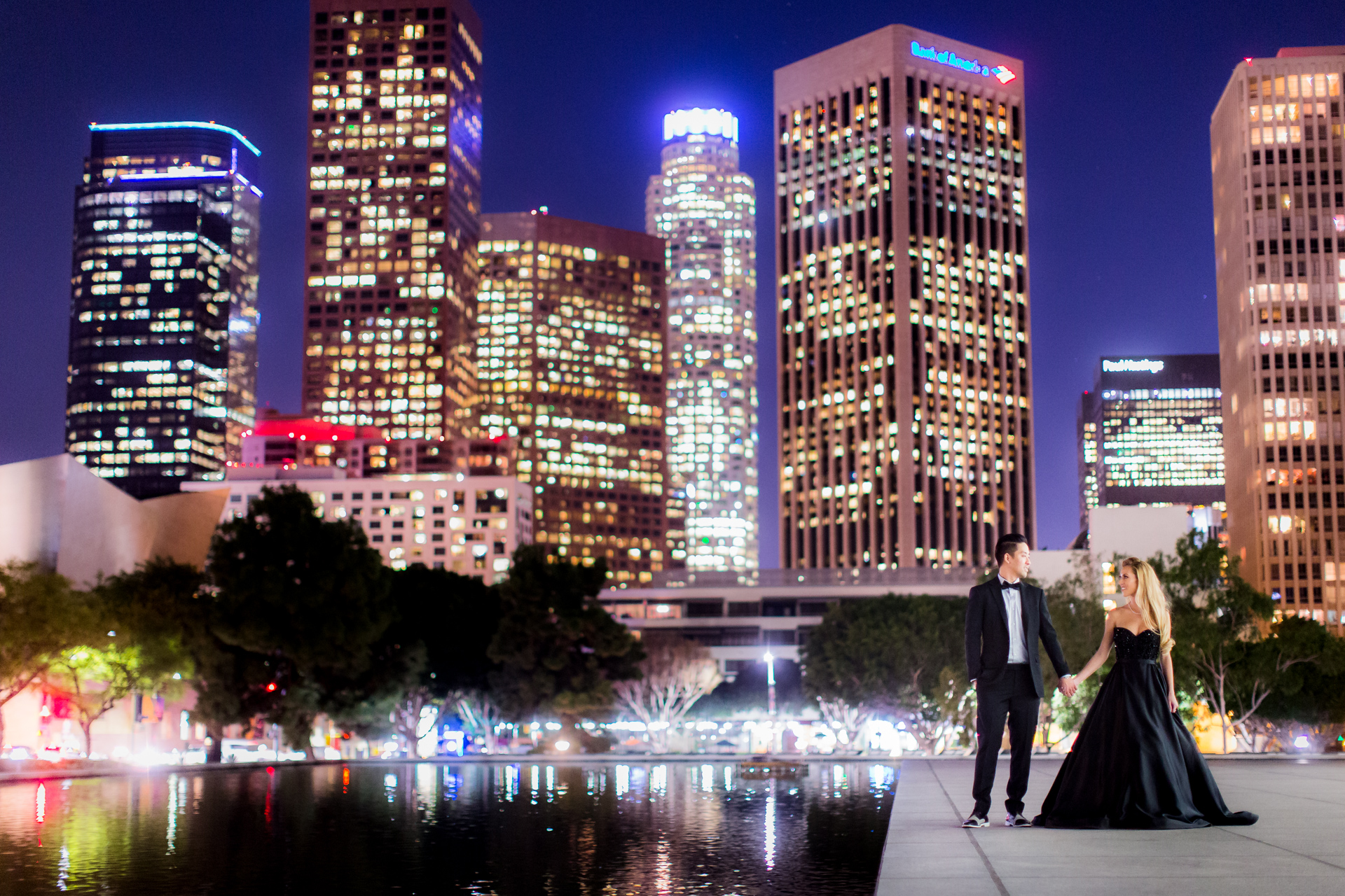 Downtown Los Angeles Engagement Nikki Amp Wynn
