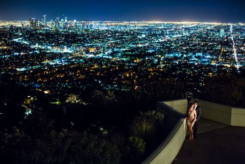 Griffith-Observatory-Los-Angeles-Engagement-Photography