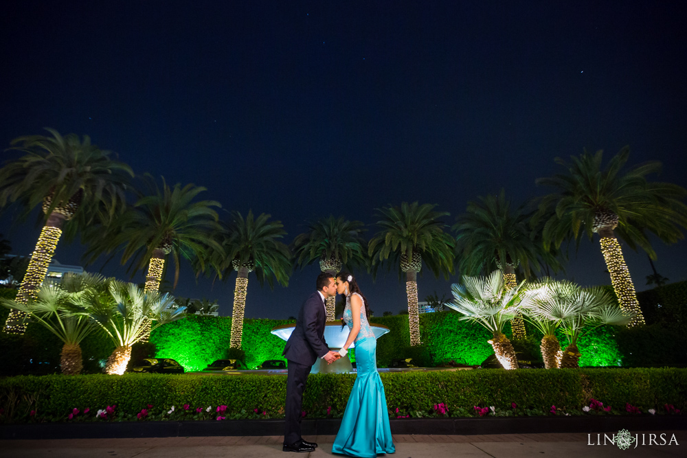 Newport Beach Marriot Wedding Meena And Zaheib