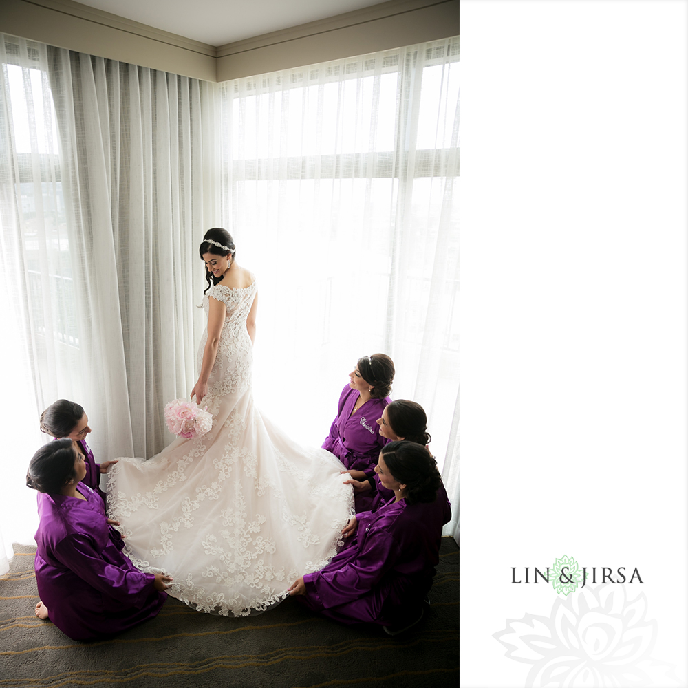 Newport Beach Marriott Wedding Monica Amp Makar