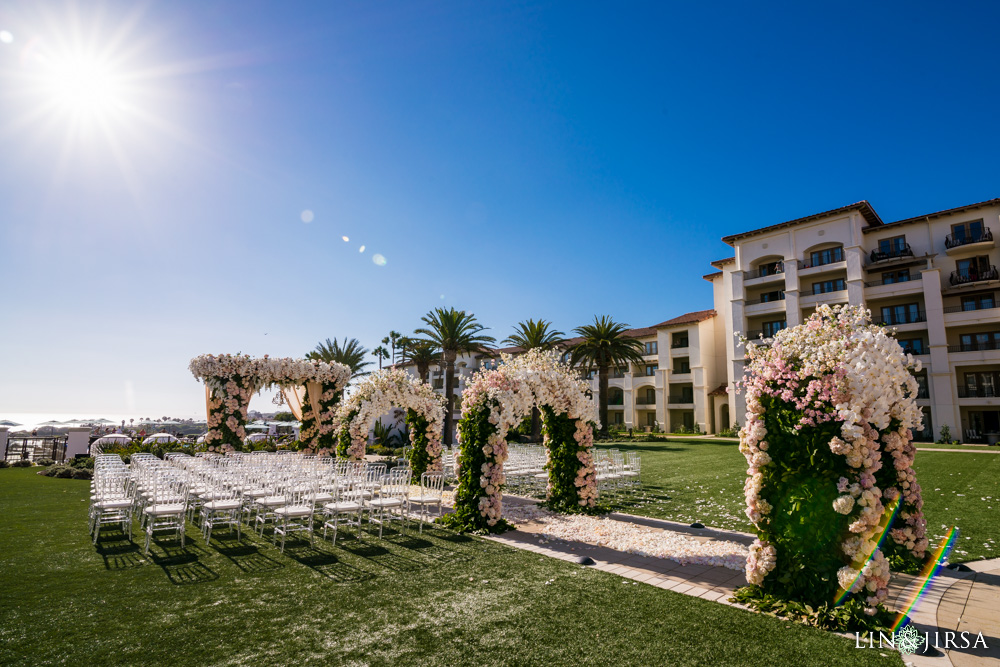 monarch beach resort wedding ieva amir
