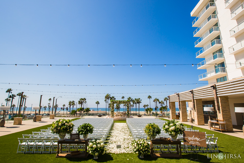 Pasea Hotel Huntington Beach Wedding Ramya Amp Asim