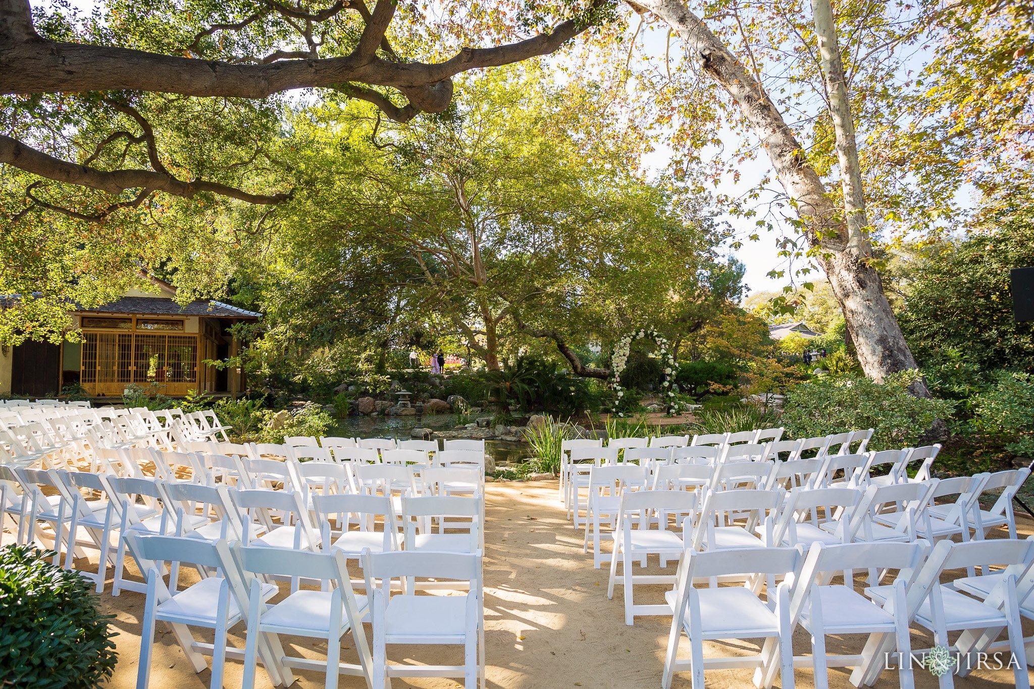Storrier Stearns Japanese Gardens Pasadena Wedding Lily