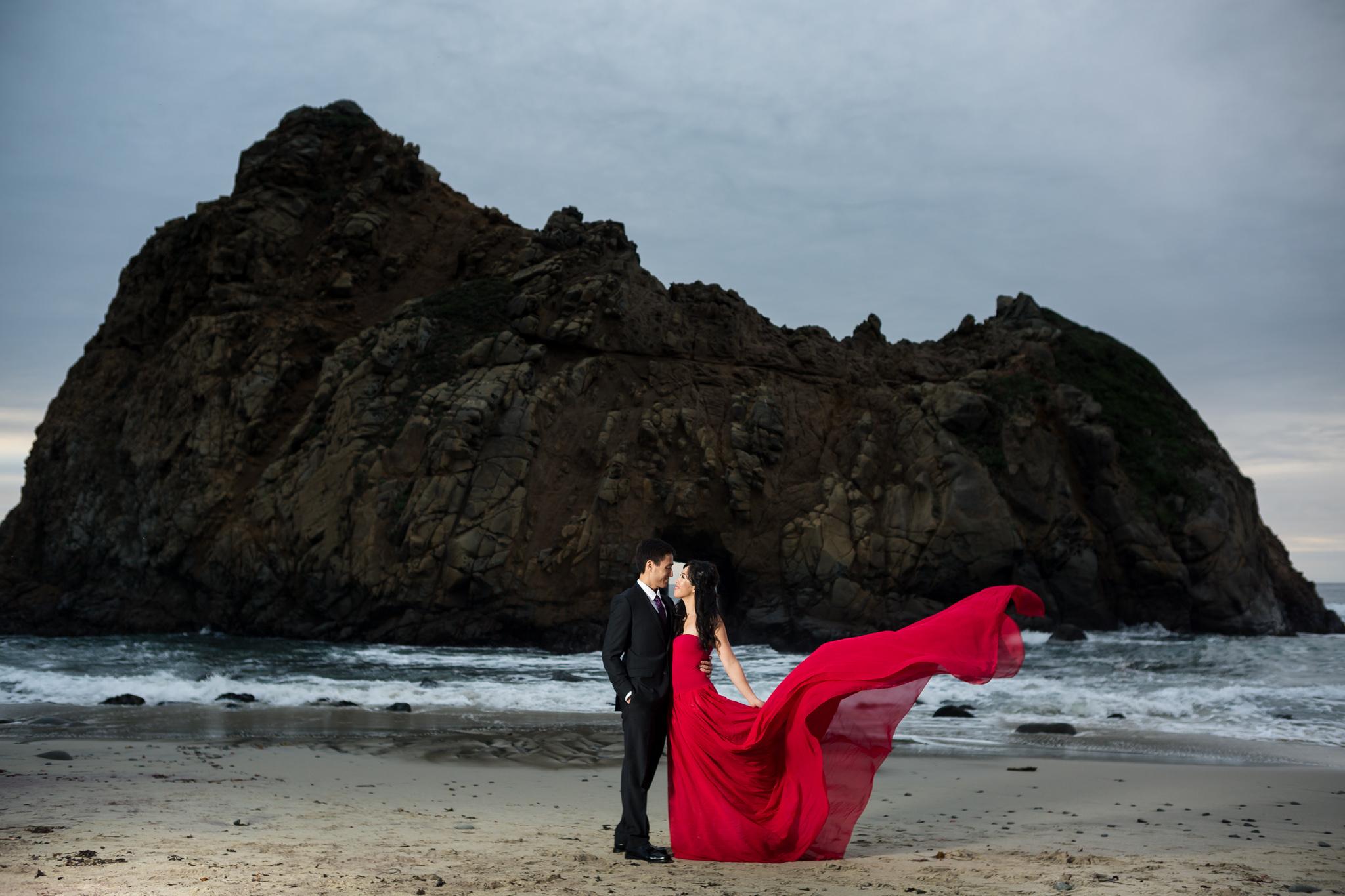 Pfeiffer Beach Big Sur Couples Session Christina Amp Jason