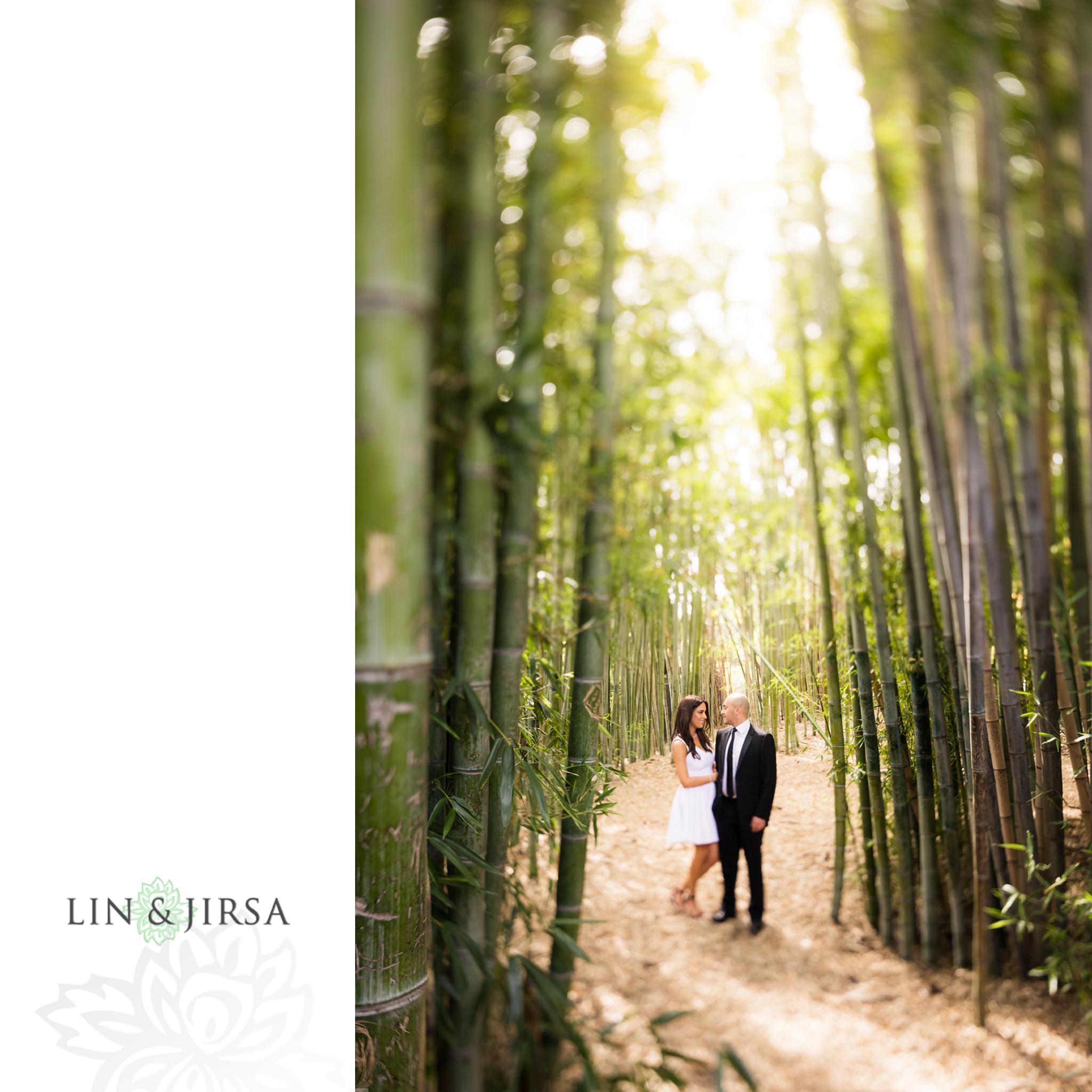 01-Los-angeles-arboretum-engagement-photography