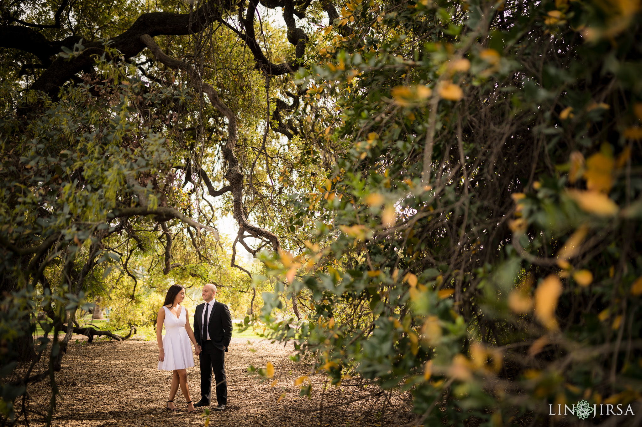 04-Los-angeles-arboretum-engagement-photography