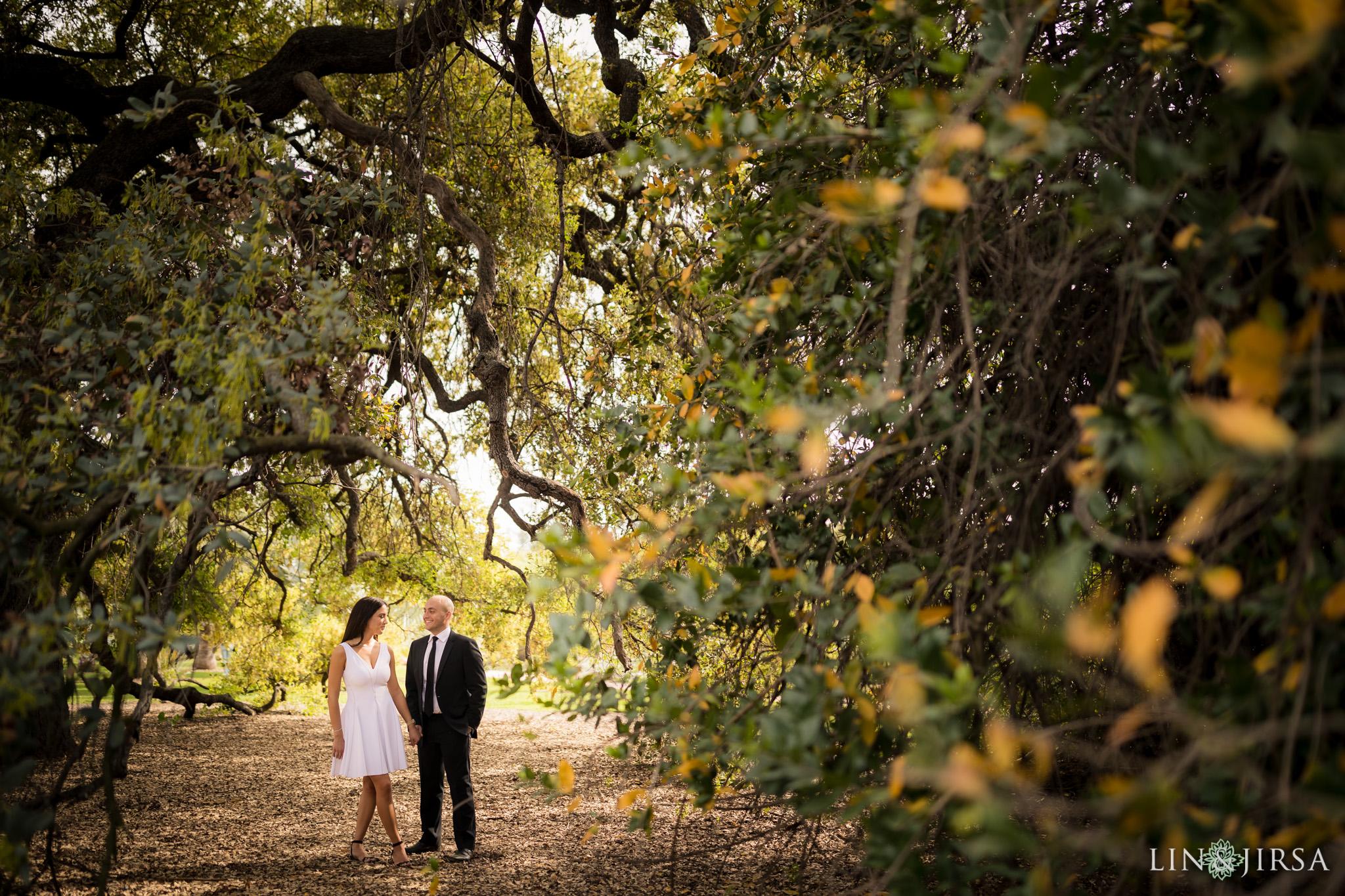 04-Los-angeles-arboretum-engagement-photography