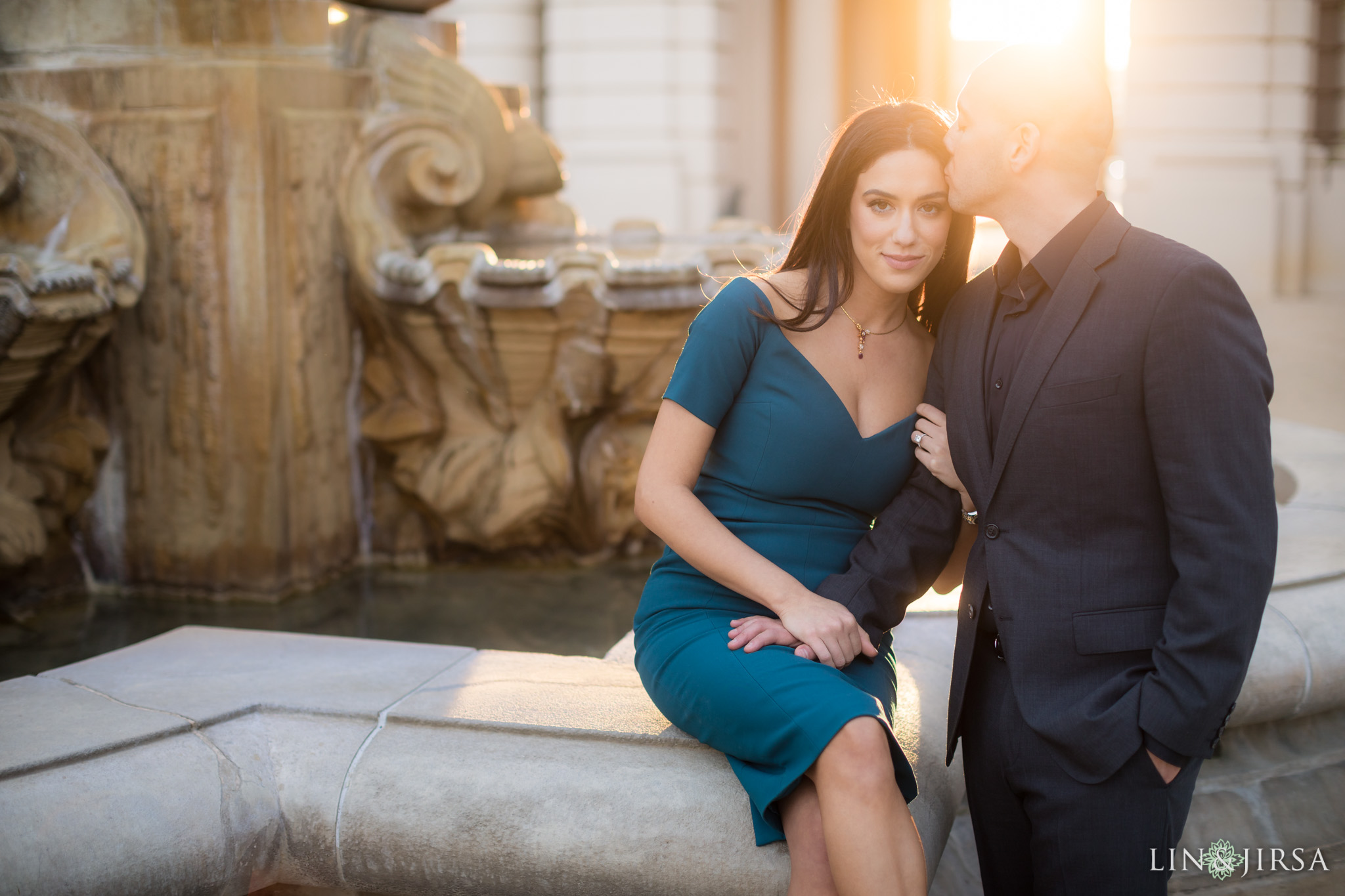12-Los-angeles-arboretum-engagement-photography