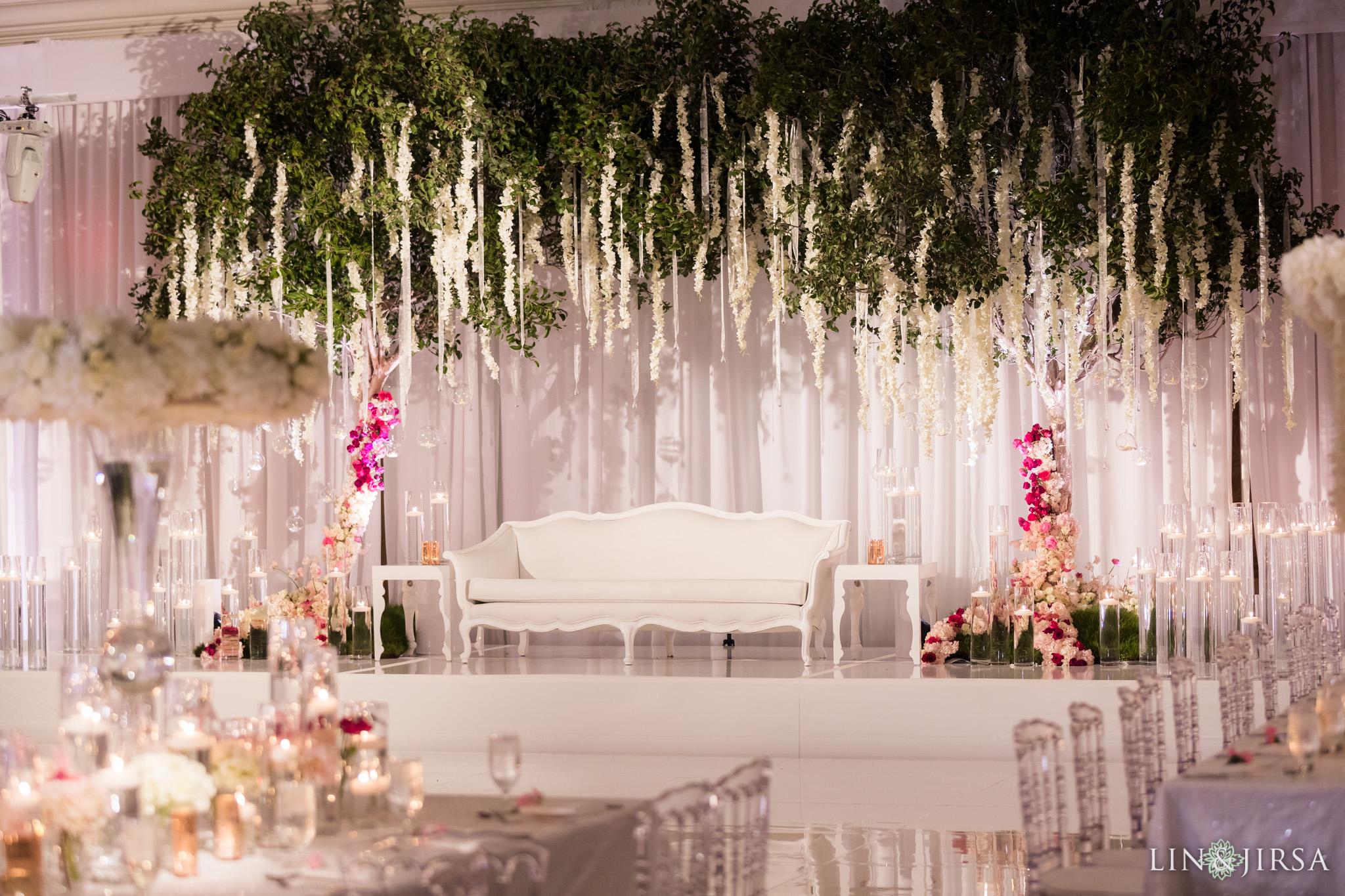 Duke Hotel Newport Beach Indian Wedding Reception