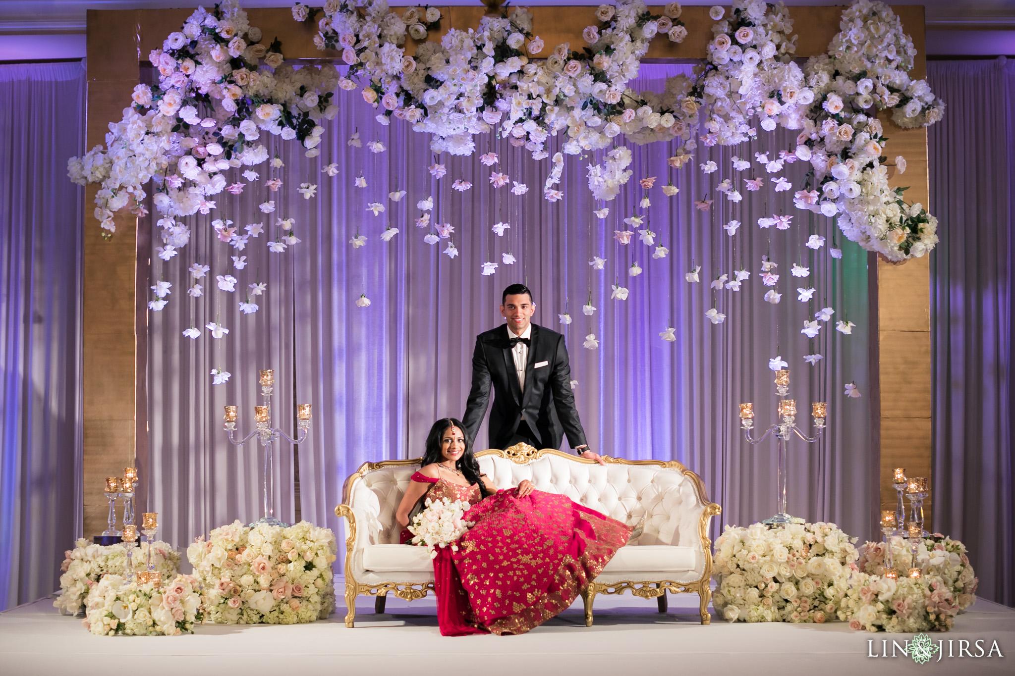 Wedding Decor Photography: Montage Laguna Beach Indian Wedding