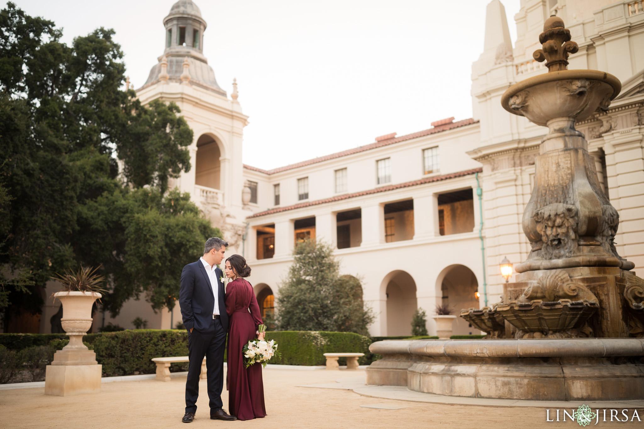 Pasadena City Hall Engagement Felicia Amp Rodney