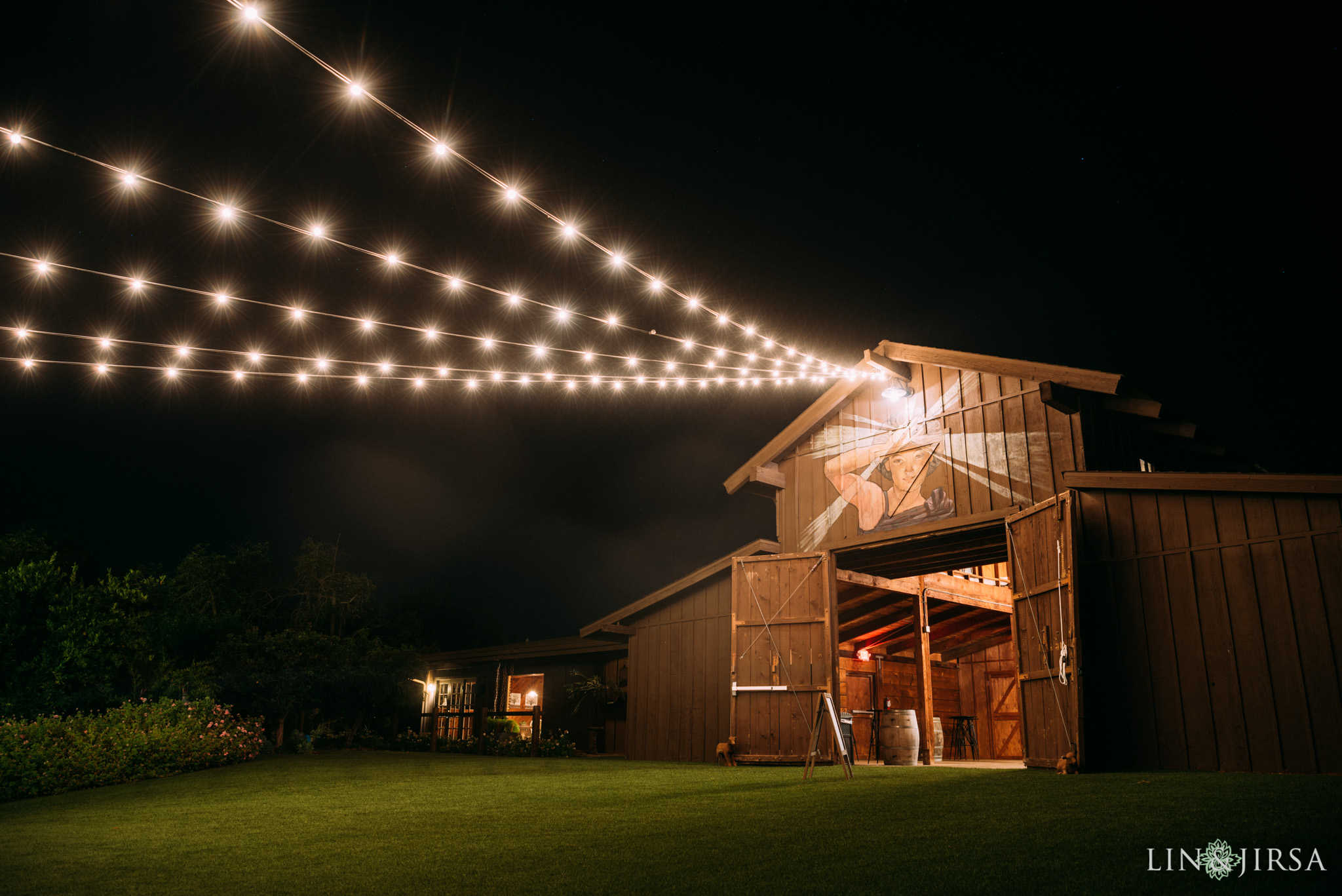 ethereal open air resort wedding reception location
