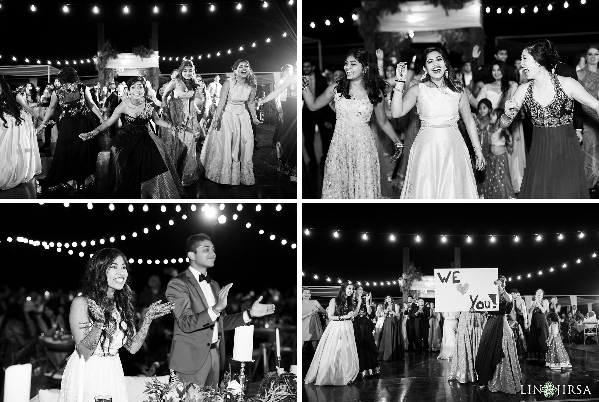 ethereal open air resort wedding dance floor photos