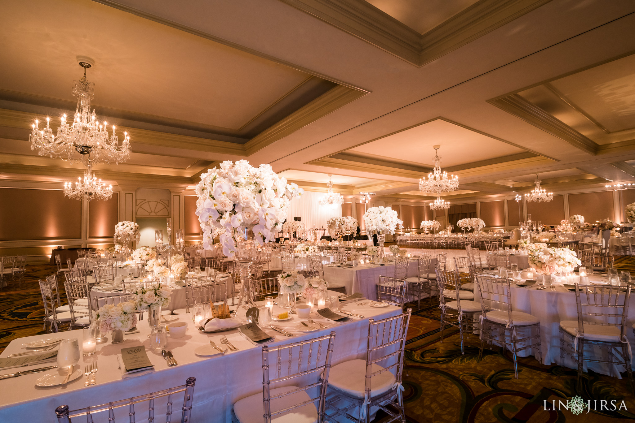 jewish wedding at langham reception