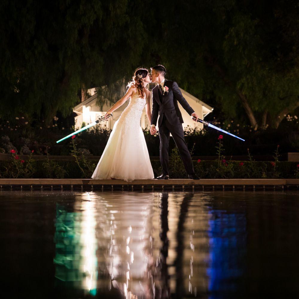 0 Richard Nixon Library Star Wars Wedding Photography