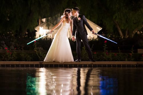 0 Richard Nixon Library Star Wars Wedding Photography