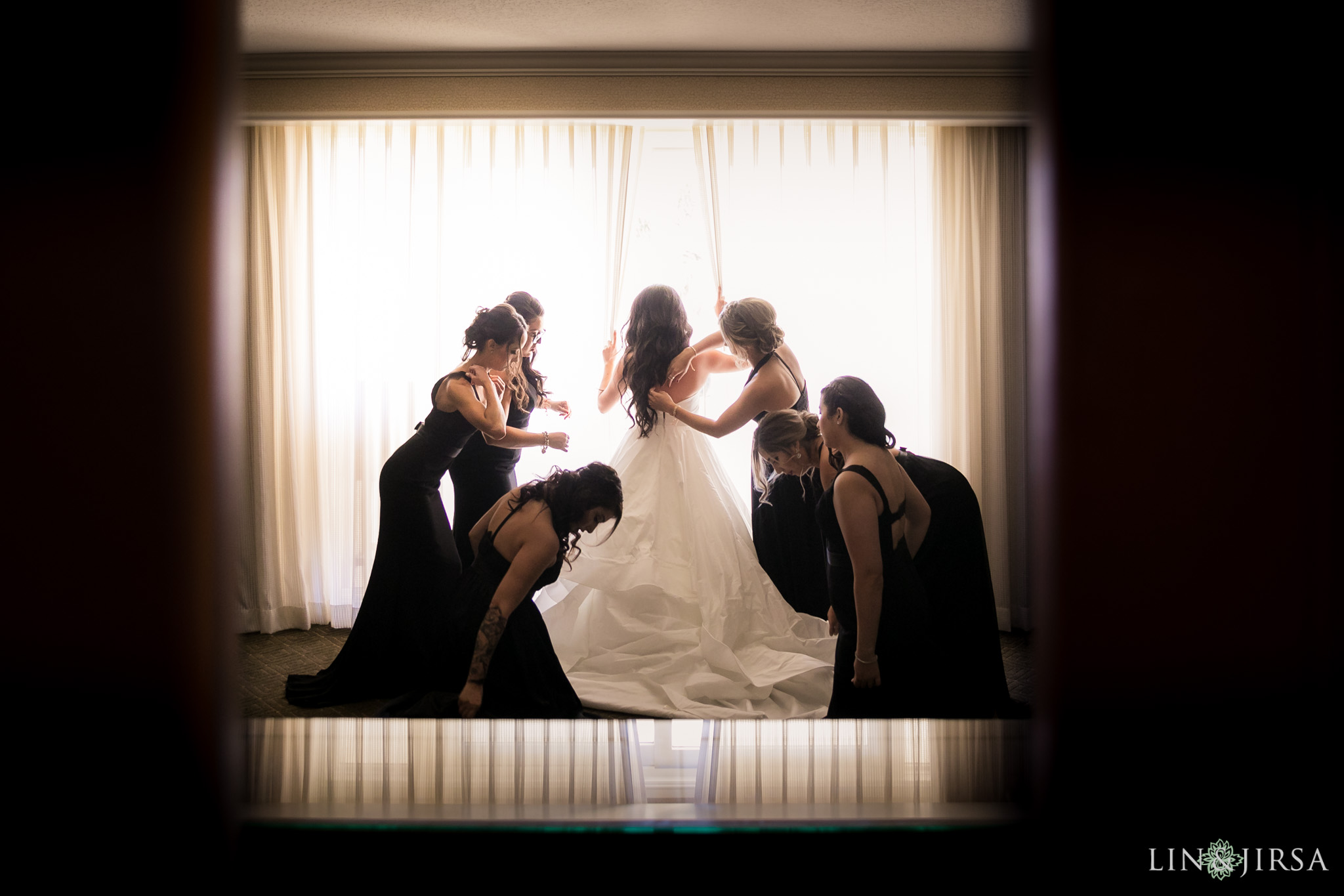 03 hyatt regency huntington beach bride wedding photography