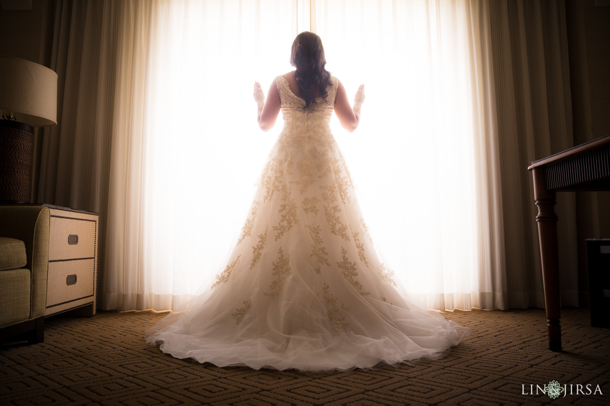 04 hyatt regency huntington beach bride wedding photography 1