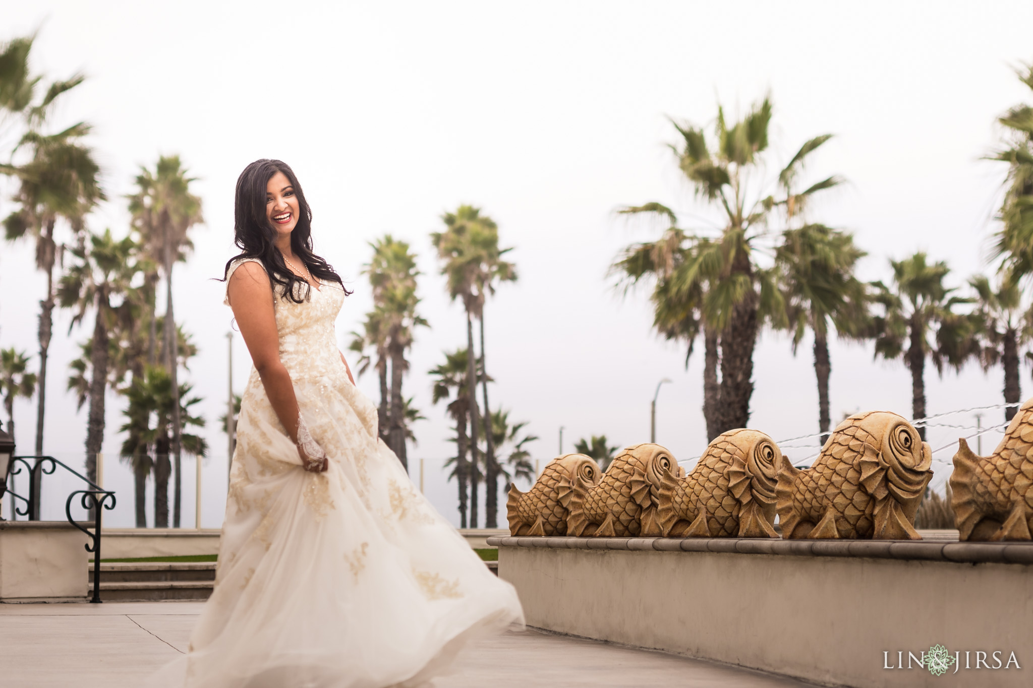 06 hyatt regency huntington beach bride wedding photography 1