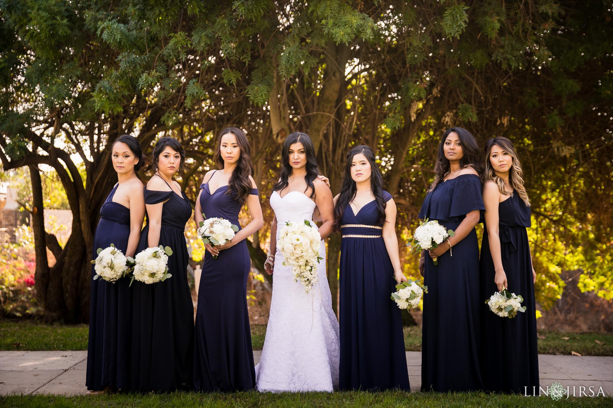 08 Orange County Indian Bridesmaids Wedding Photography