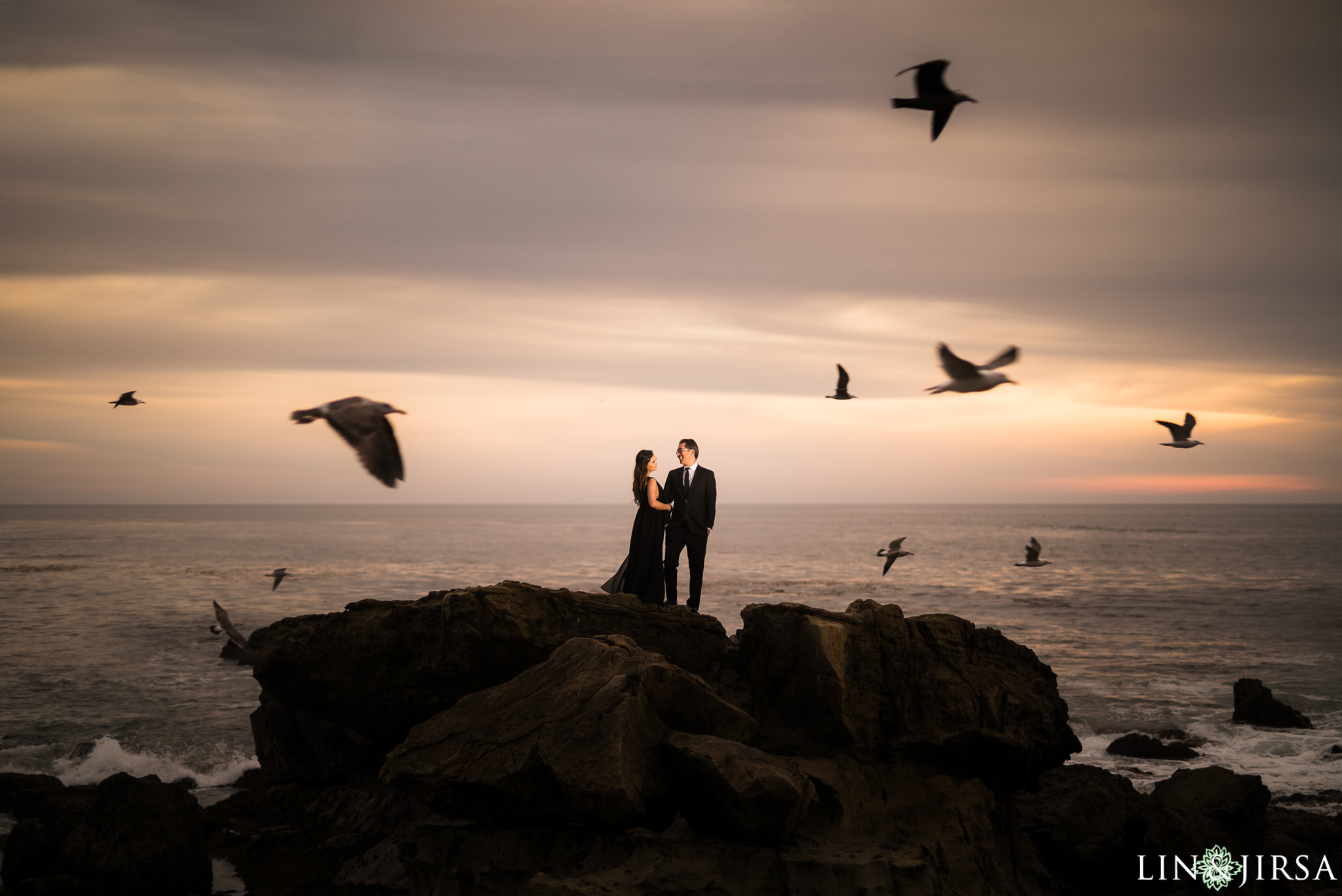 10 heisler beach orange county engagement photography