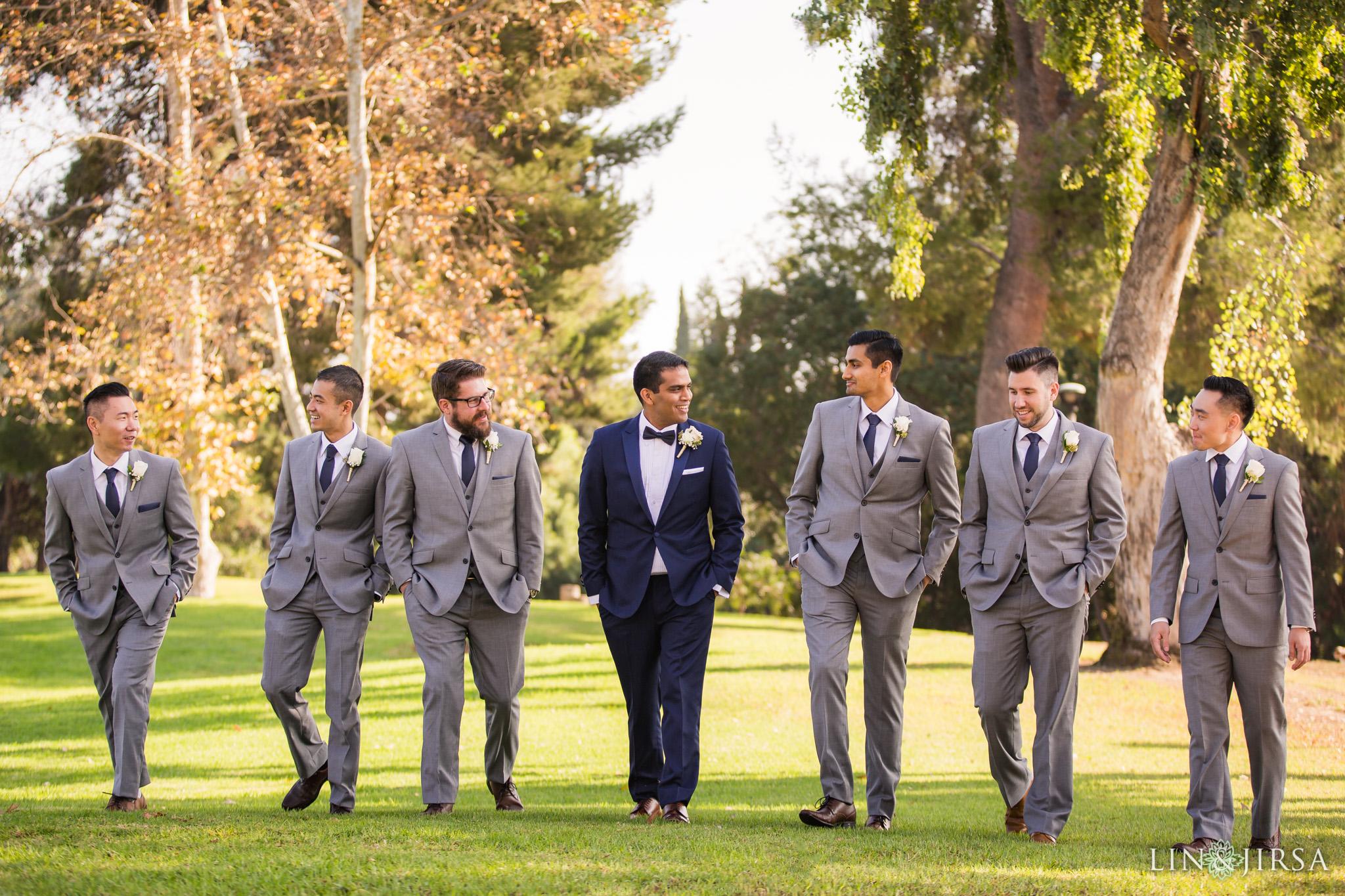 12 Orange County Indian Groomsmen Wedding Photography