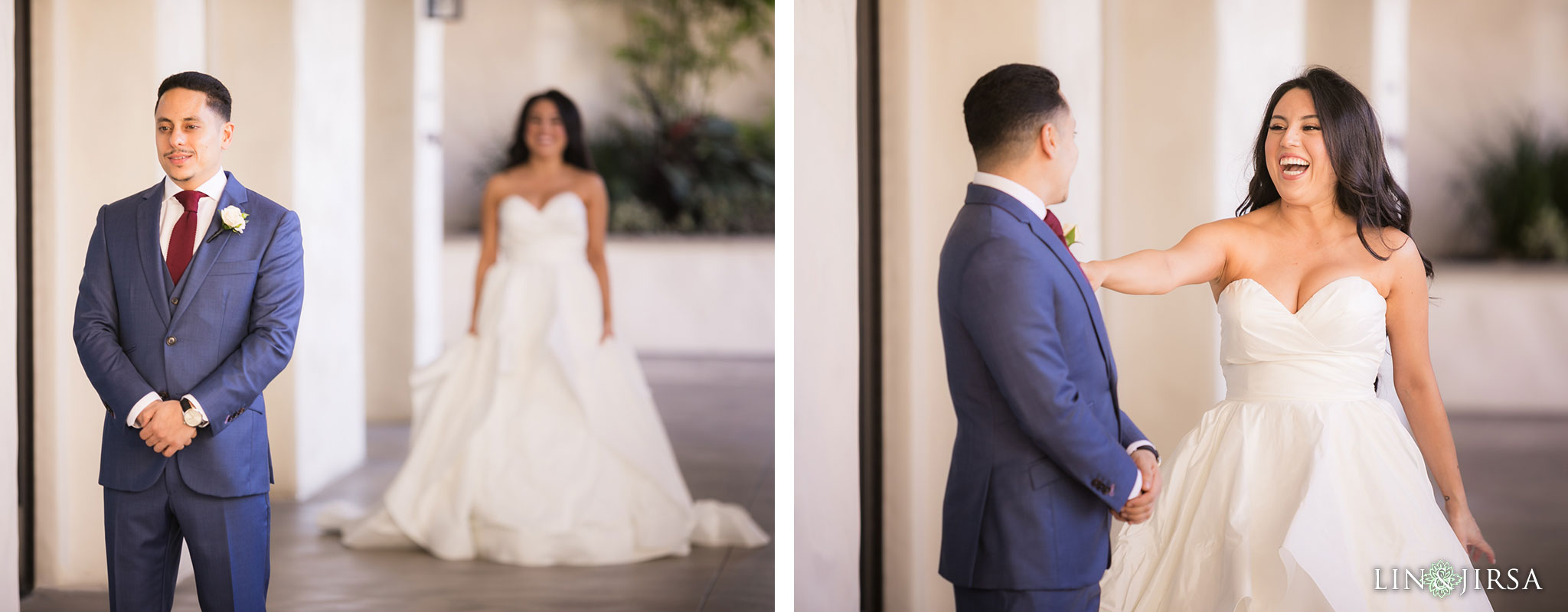 12 hyatt regency huntington beach first look wedding photography