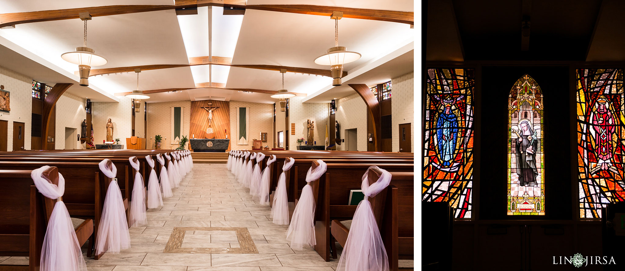 13 St Juliana Falconieri Church Fullerton Wedding Photography
