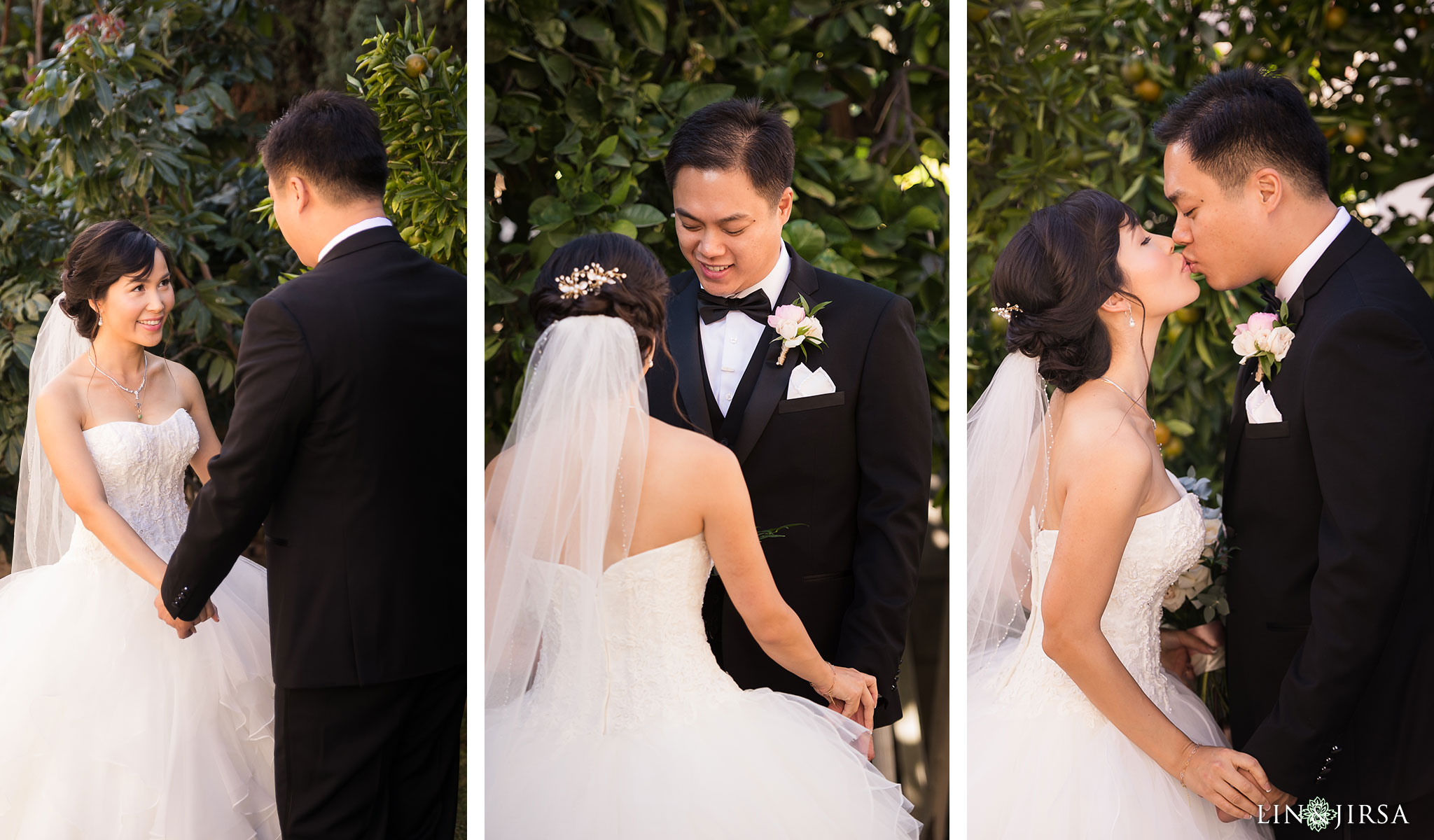 13 brookside golf club pasadena first look wedding photography