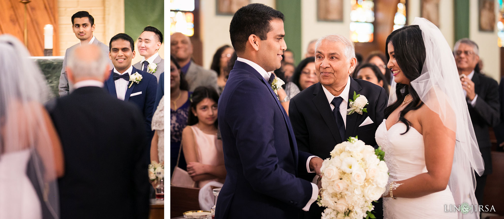 15 St Juliana Falconieri Church Fullerton Wedding Photography