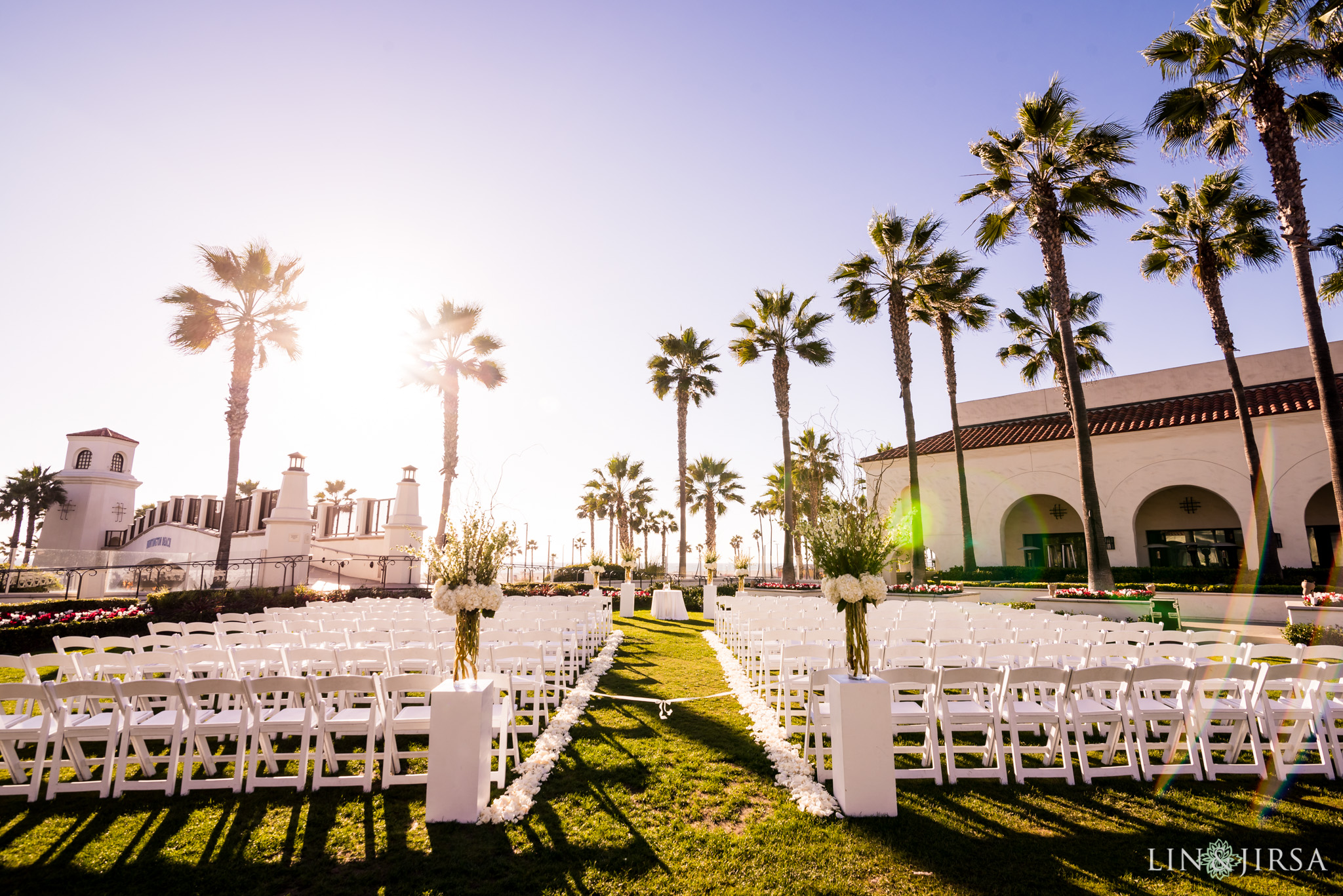 17 hyatt regency huntington beach wedding ceremony photography