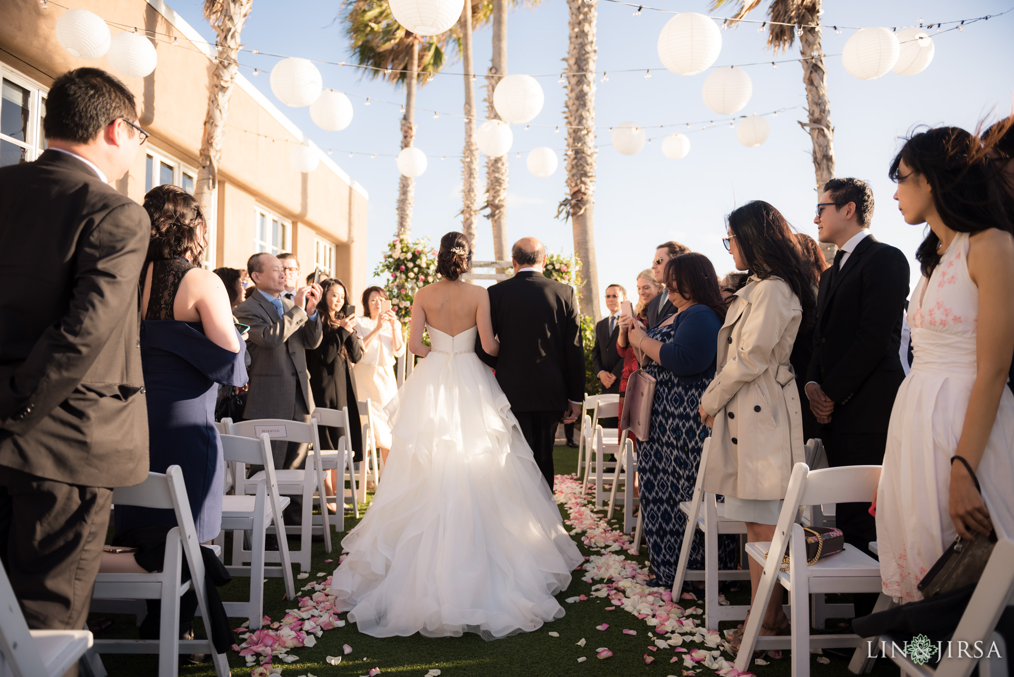 17 portofino hotel redondo beach wedding ceremony photography