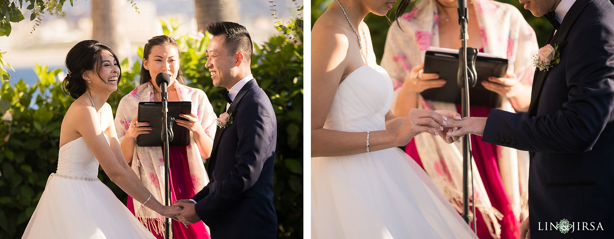 18 portofino hotel redondo beach wedding ceremony photography