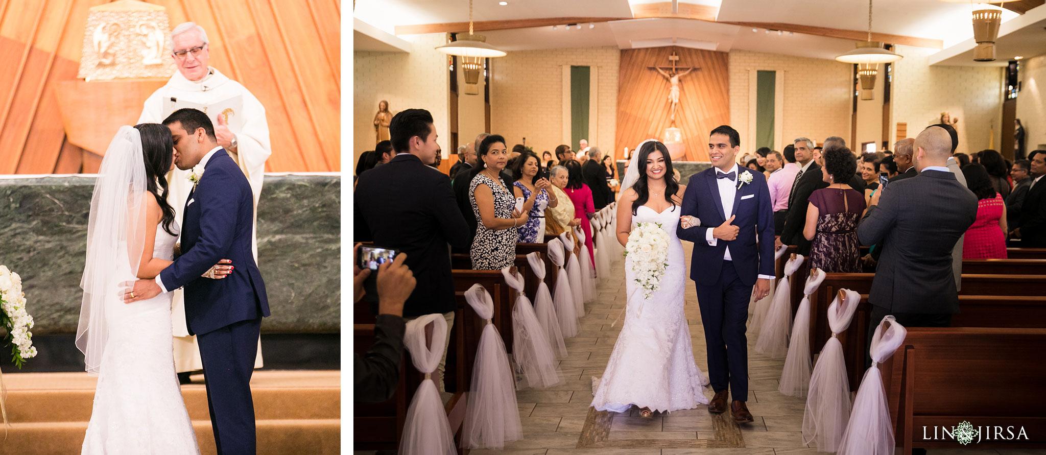19 St Juliana Falconieri Church Fullerton Wedding Photography