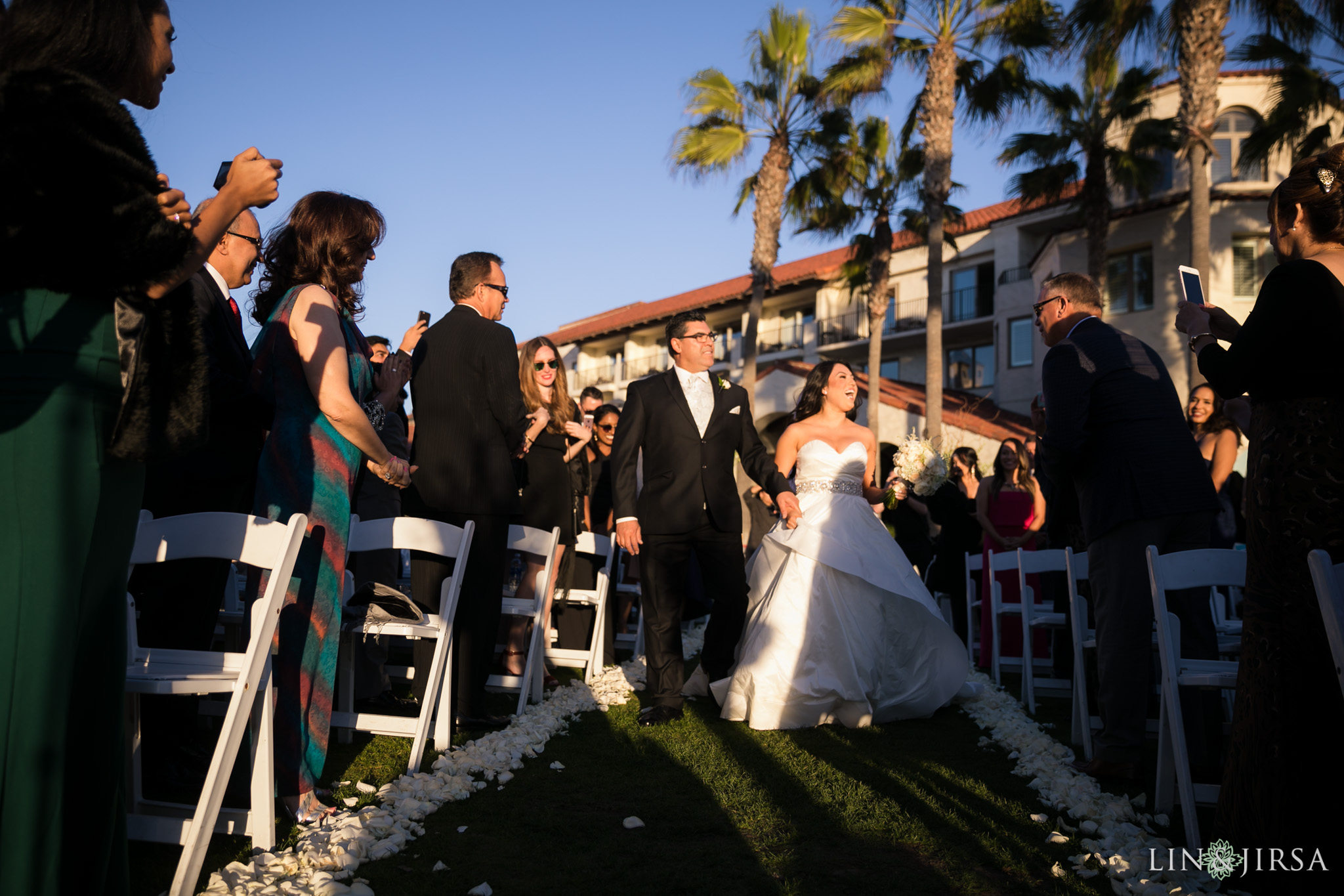 19 hyatt regency huntington beach wedding ceremony photography