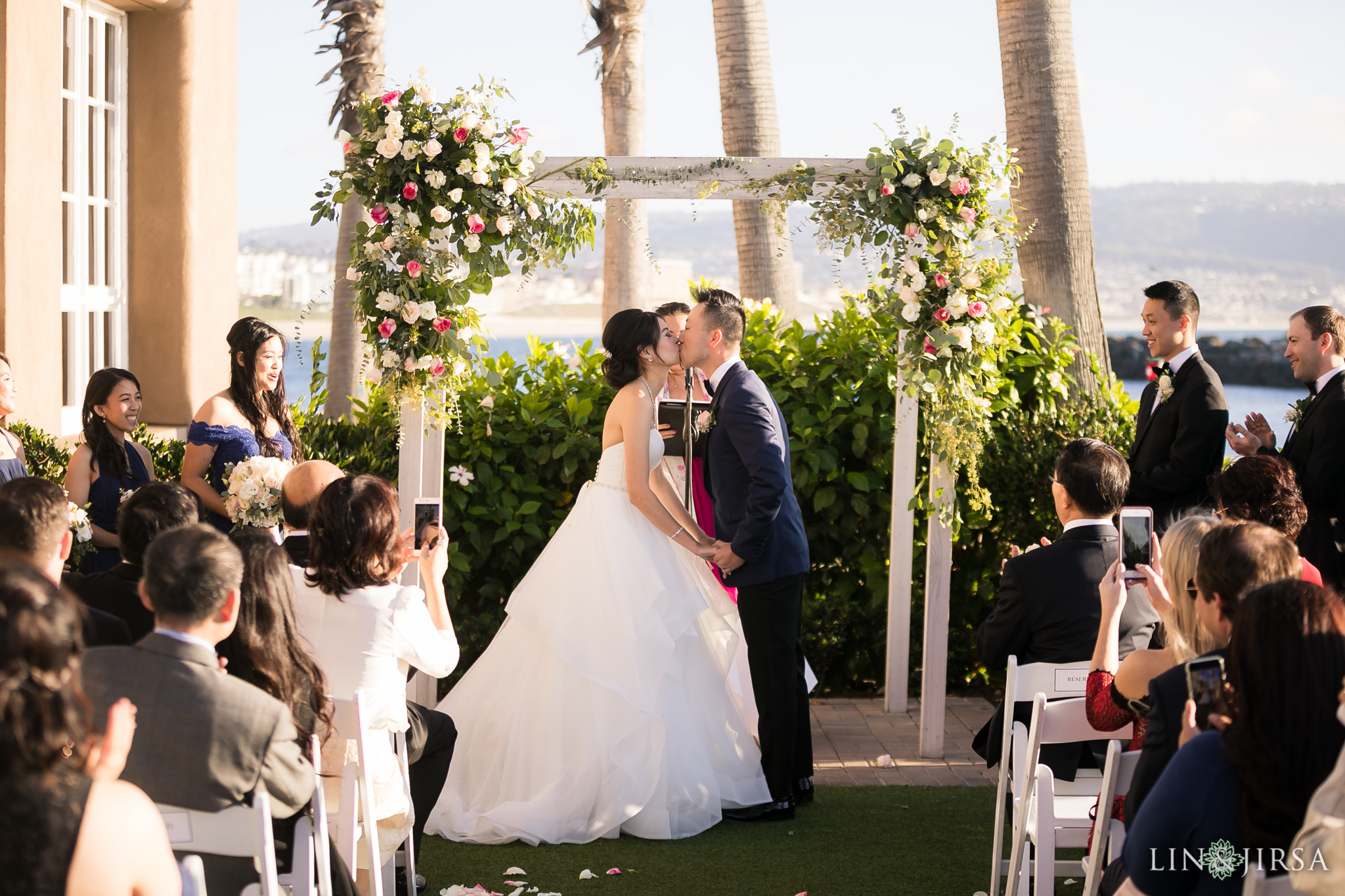 19 portofino hotel redondo beach wedding ceremony photography