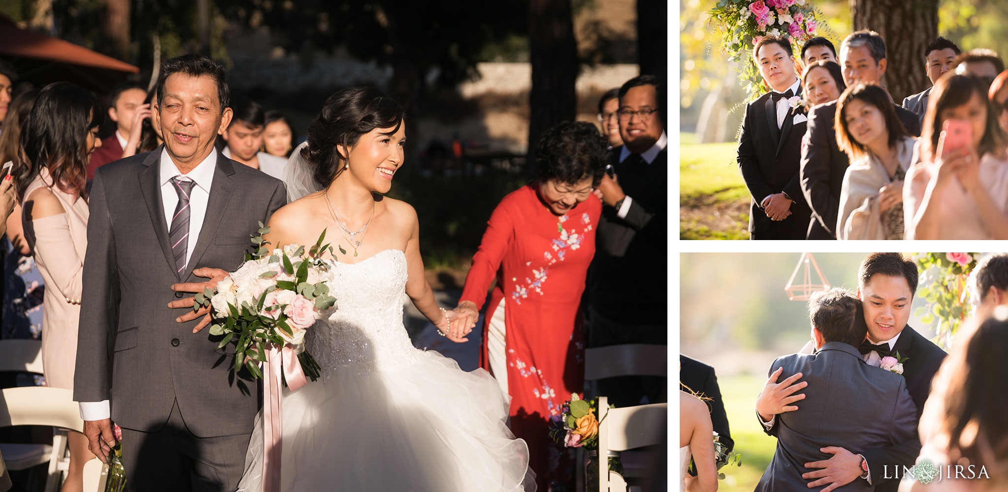 21 brookside golf club pasadena wedding ceremony photography