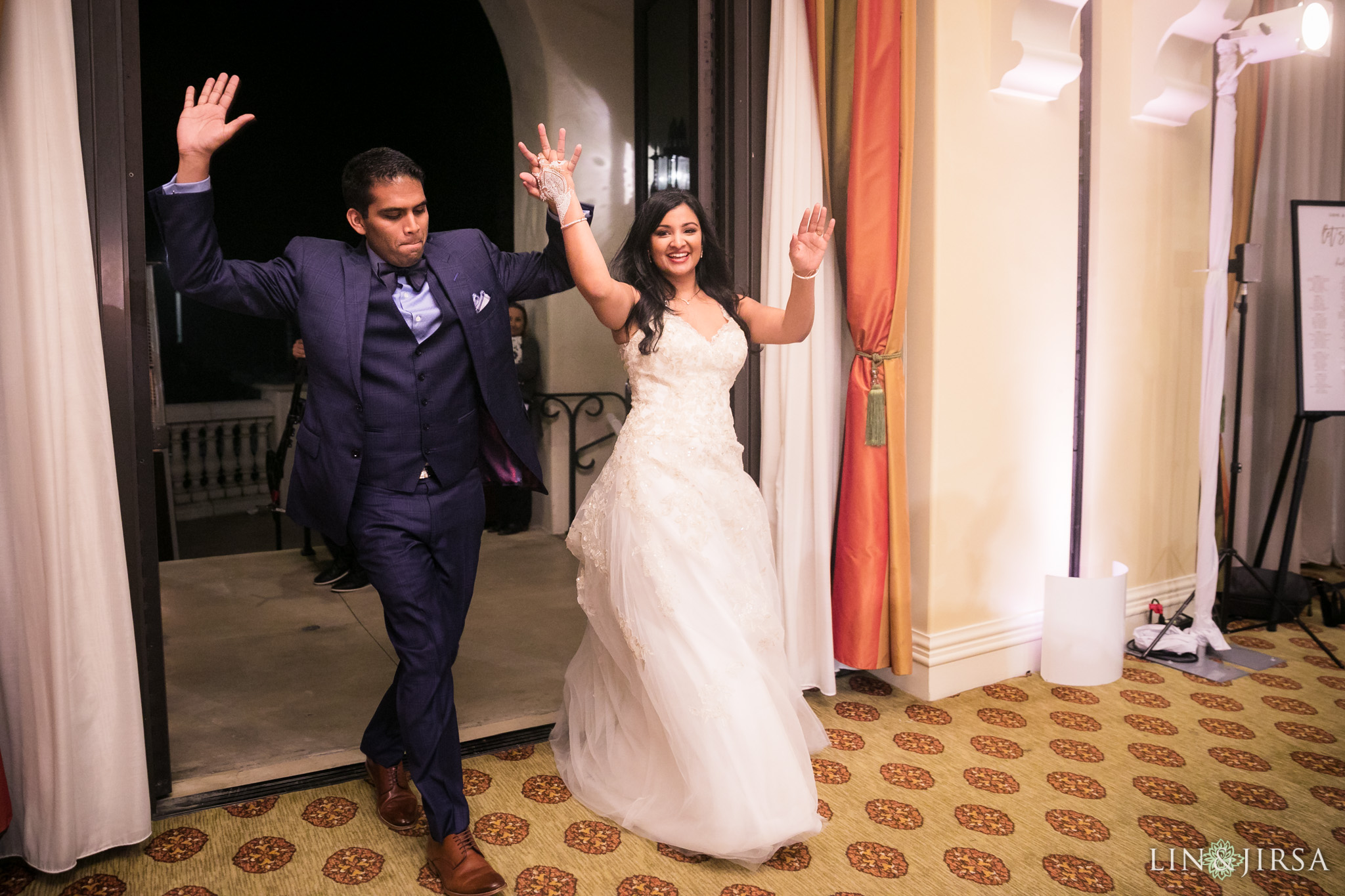 21 hyatt regency huntington beach wedding reception photography