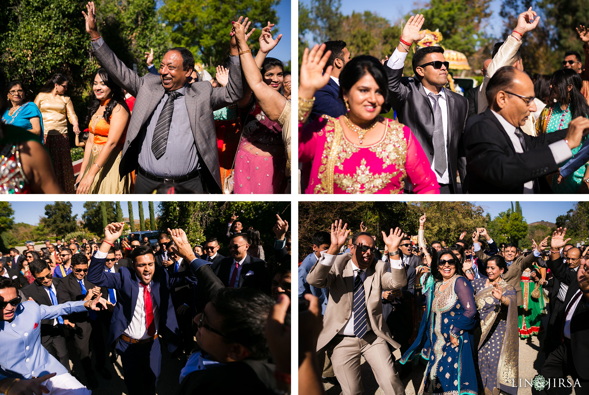22 four seasons westlake village indian wedding baraat photography