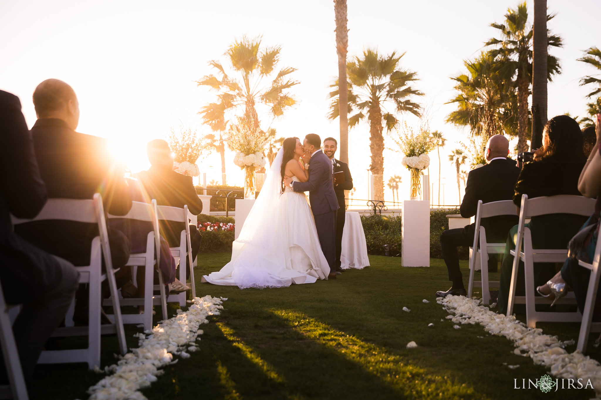 23 hyatt regency huntington beach wedding ceremony photography