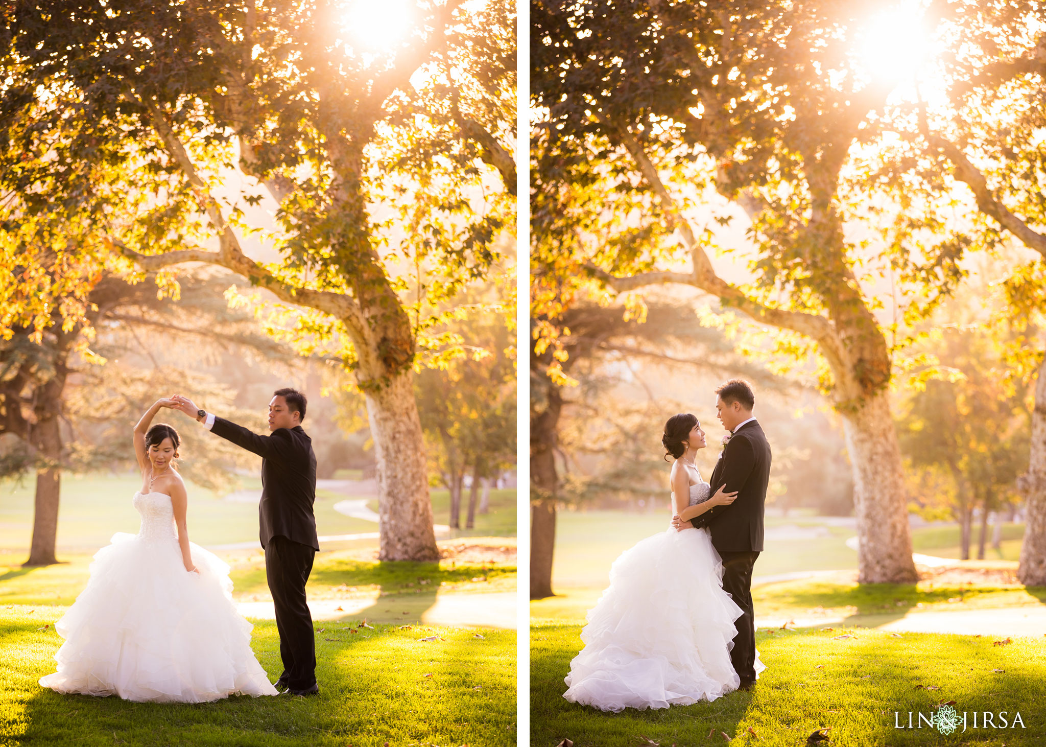 25 brookside golf club pasadena wedding couple photography