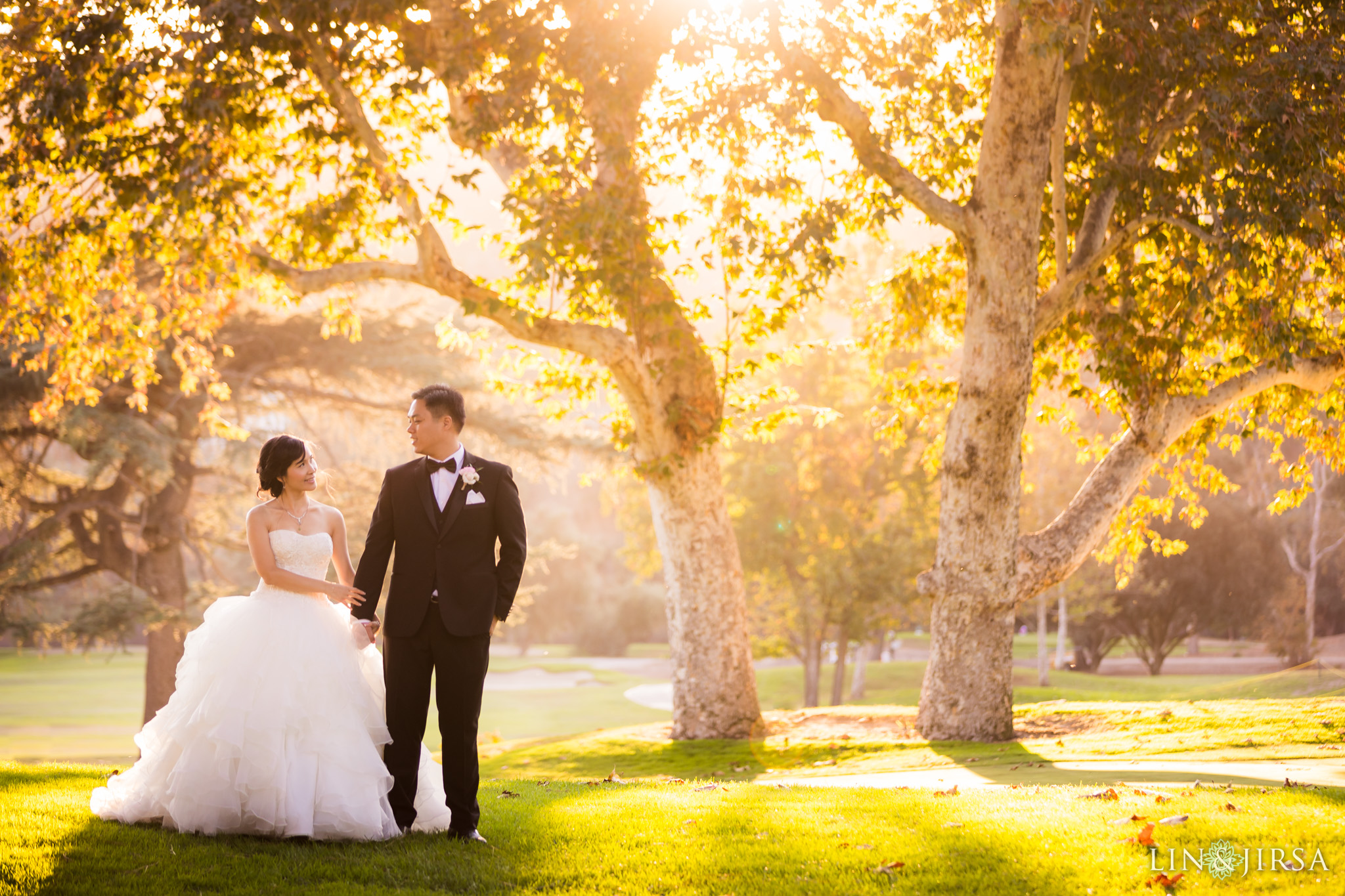 26 brookside golf club pasadena wedding couple photography