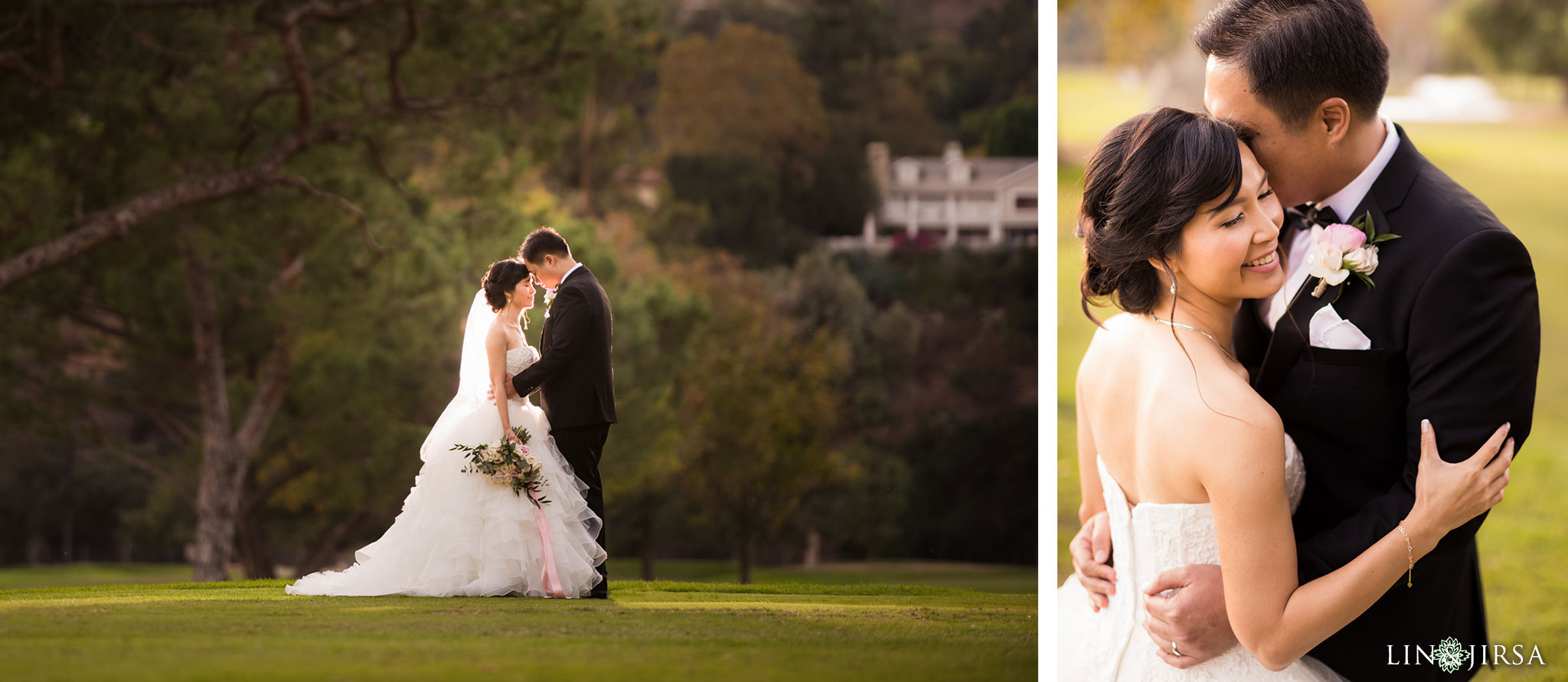 27 brookside golf club pasadena wedding couple photography