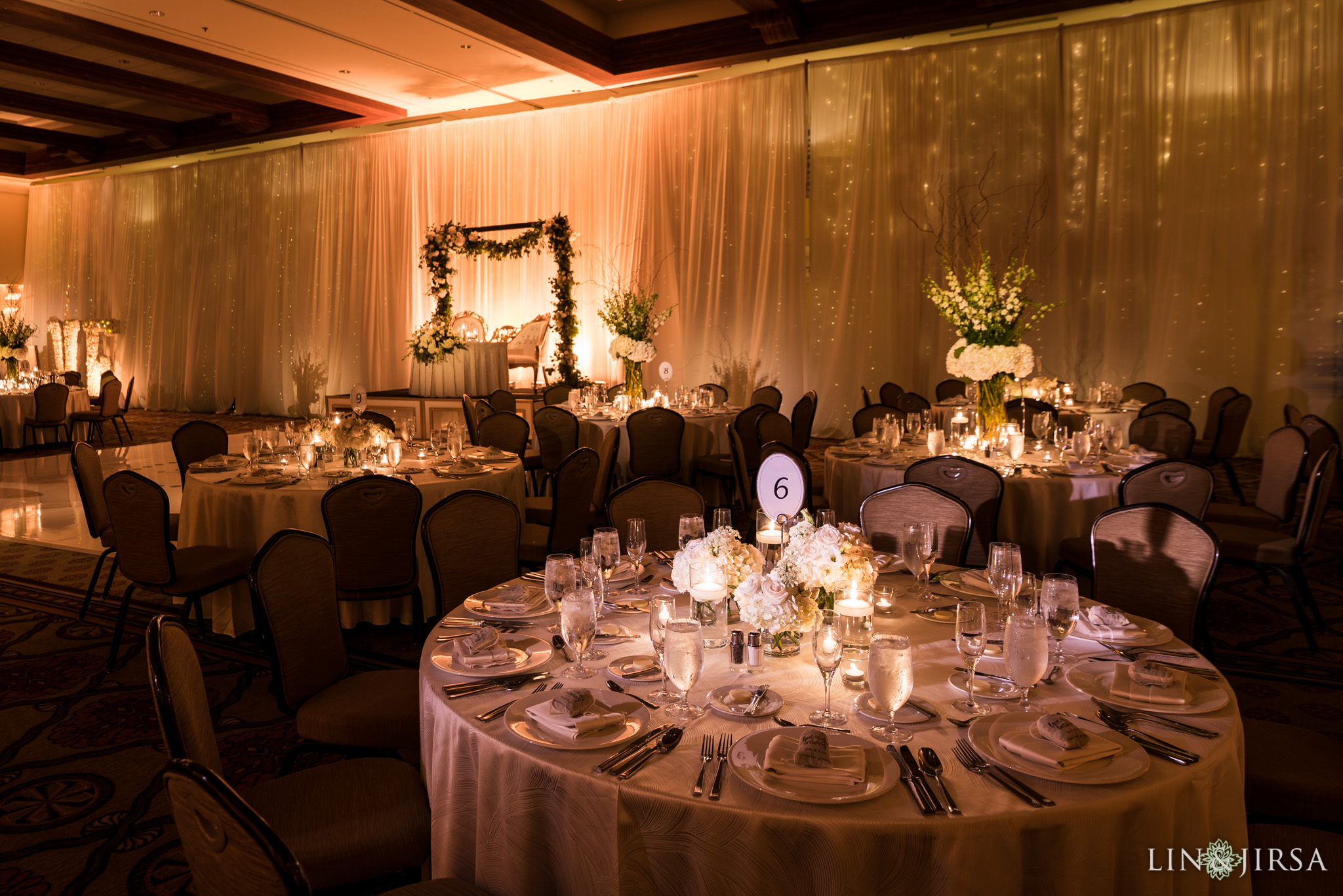 27 hyatt regency huntington beach wedding reception photography